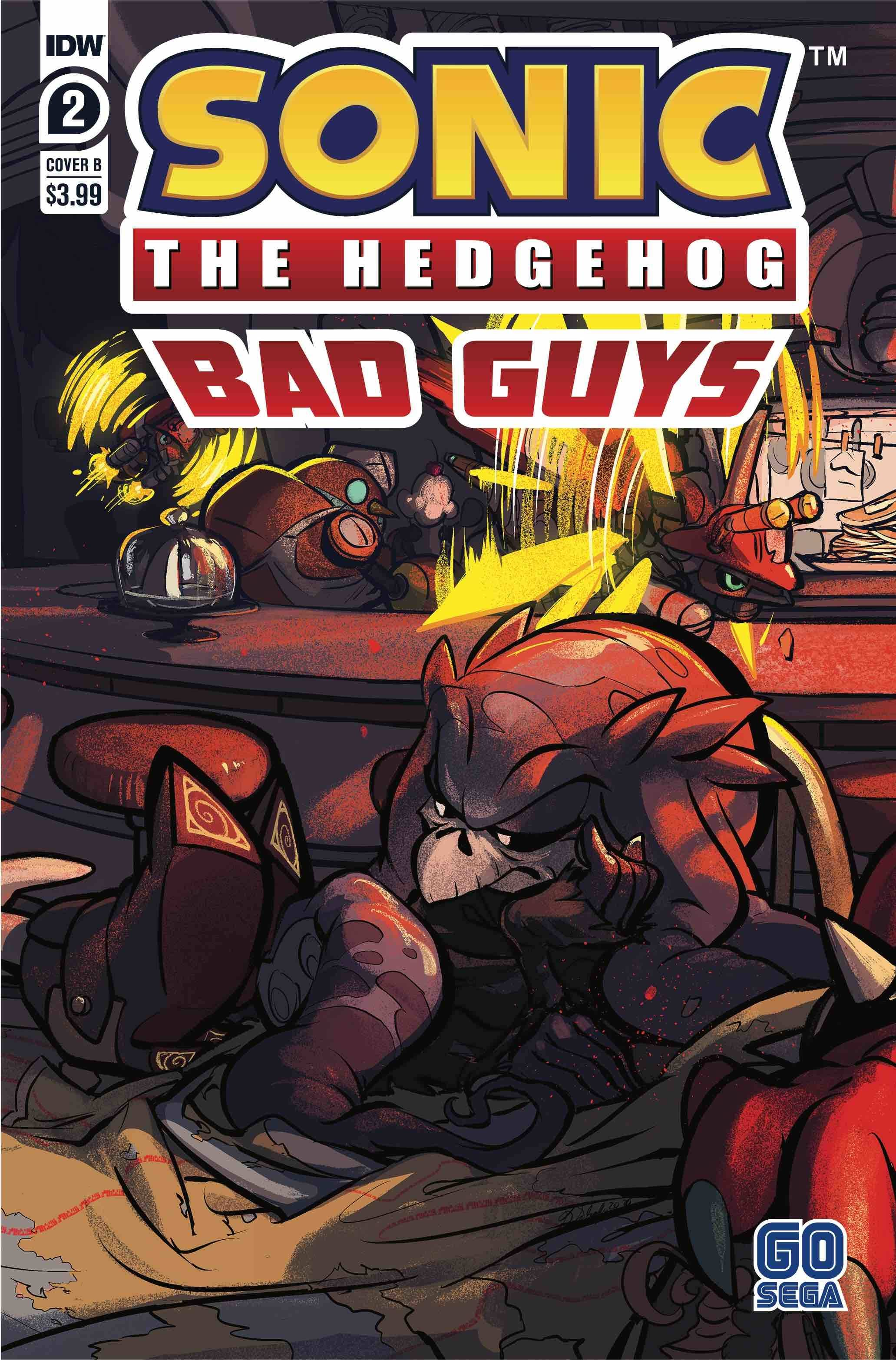 SONIC THE HEDGEHOG BAD GUYS #2 (OF 4) CVR B SKELLY