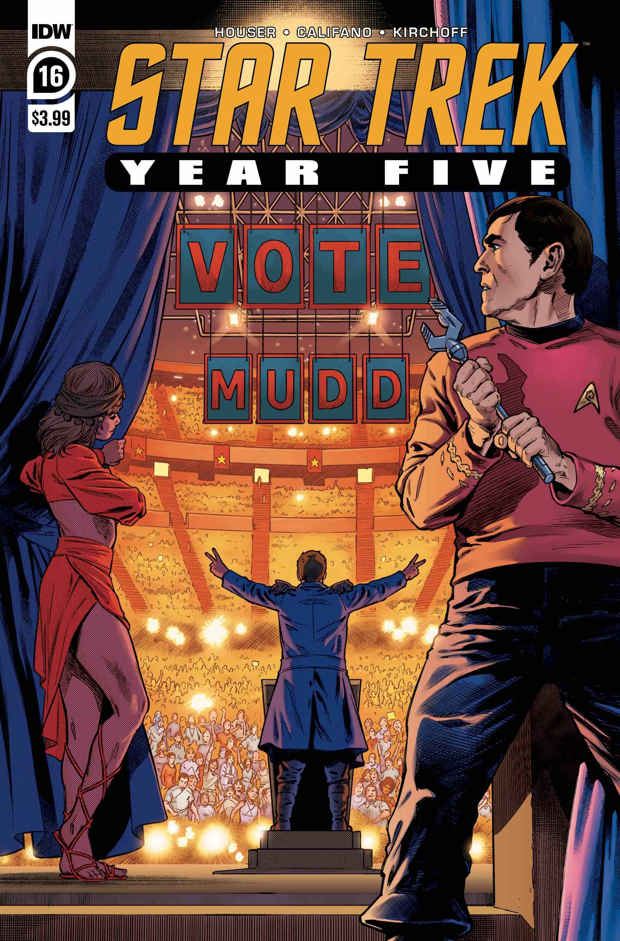 STAR TREK YEAR FIVE #16