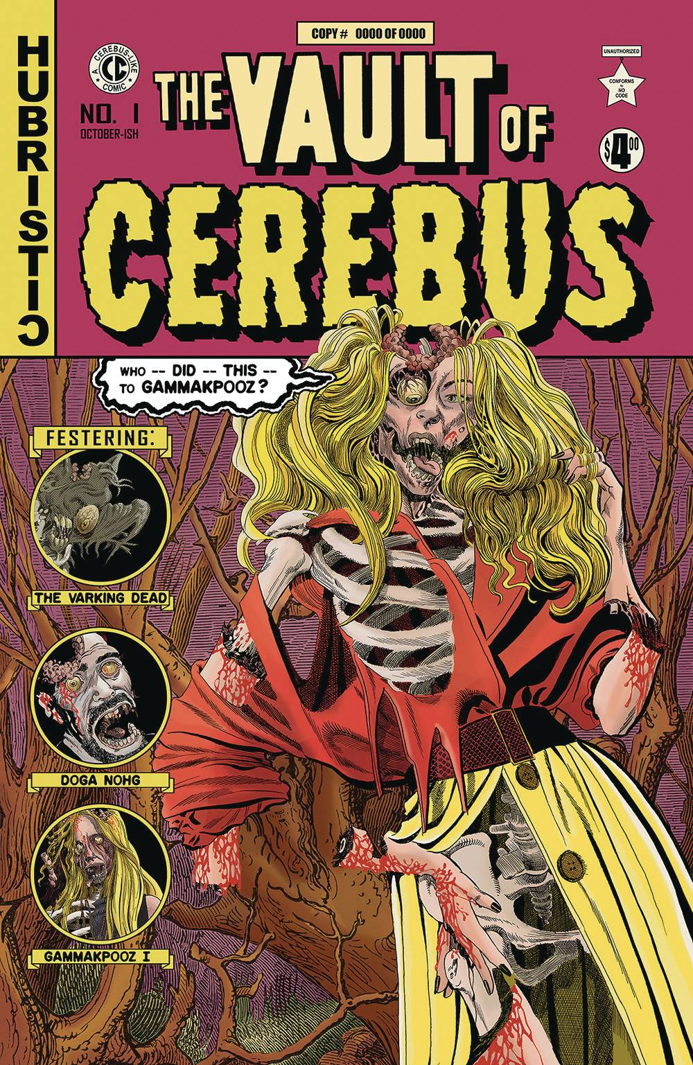 VAULT OF CEREBUS ONE SHOT