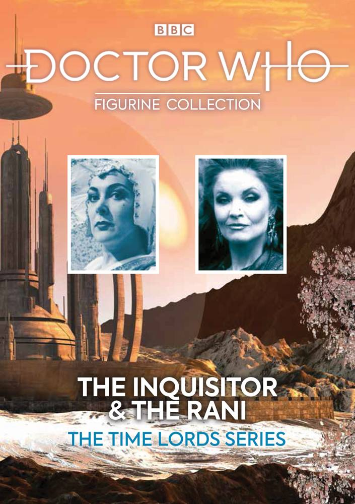 DOCTOR WHO TIME LORD SERIES #4 THE INQUISITOR AND THE RANI (