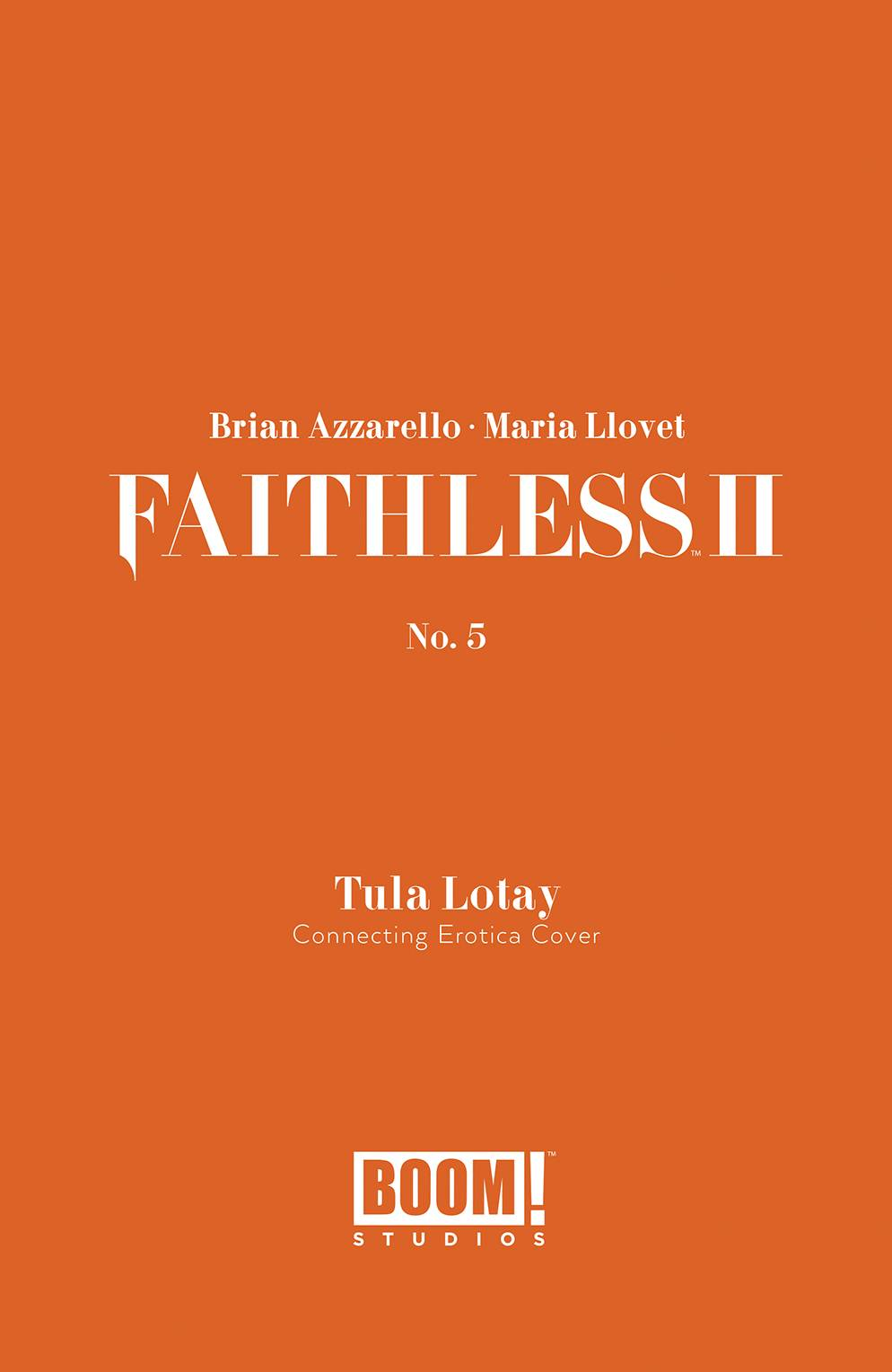 FAITHLESS II #5 CVR B EROTICA CONNECTING VAR (MR)