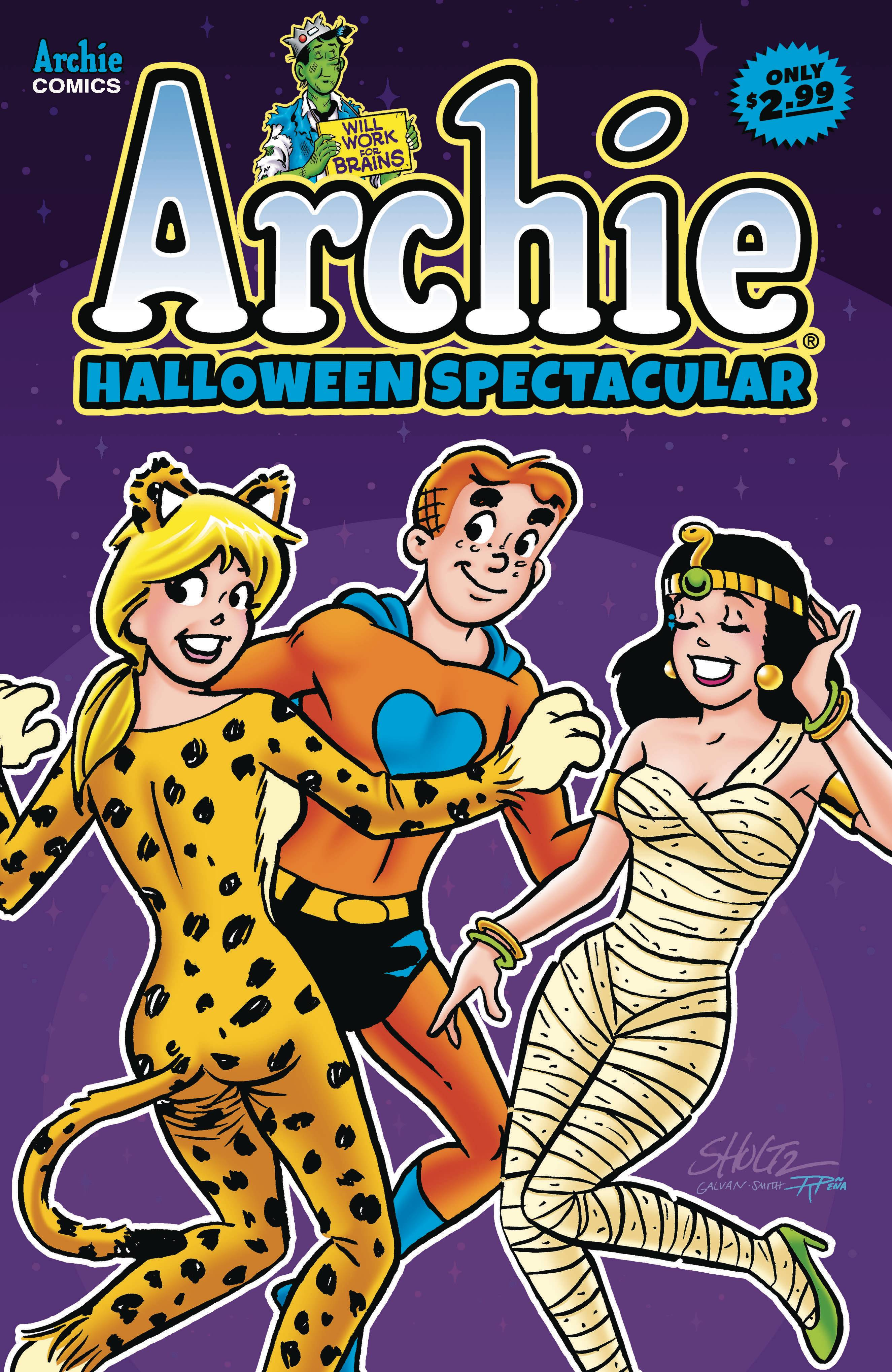 Archie Halloween Spectacular 2020 AUG201175   ARCHIES HALLOWEEN SPECTACULAR #1   Previews World