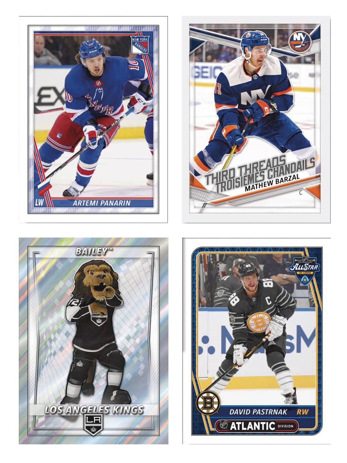 TOPPS 2020-21 NHL STICKER COLL ALBUM DIS