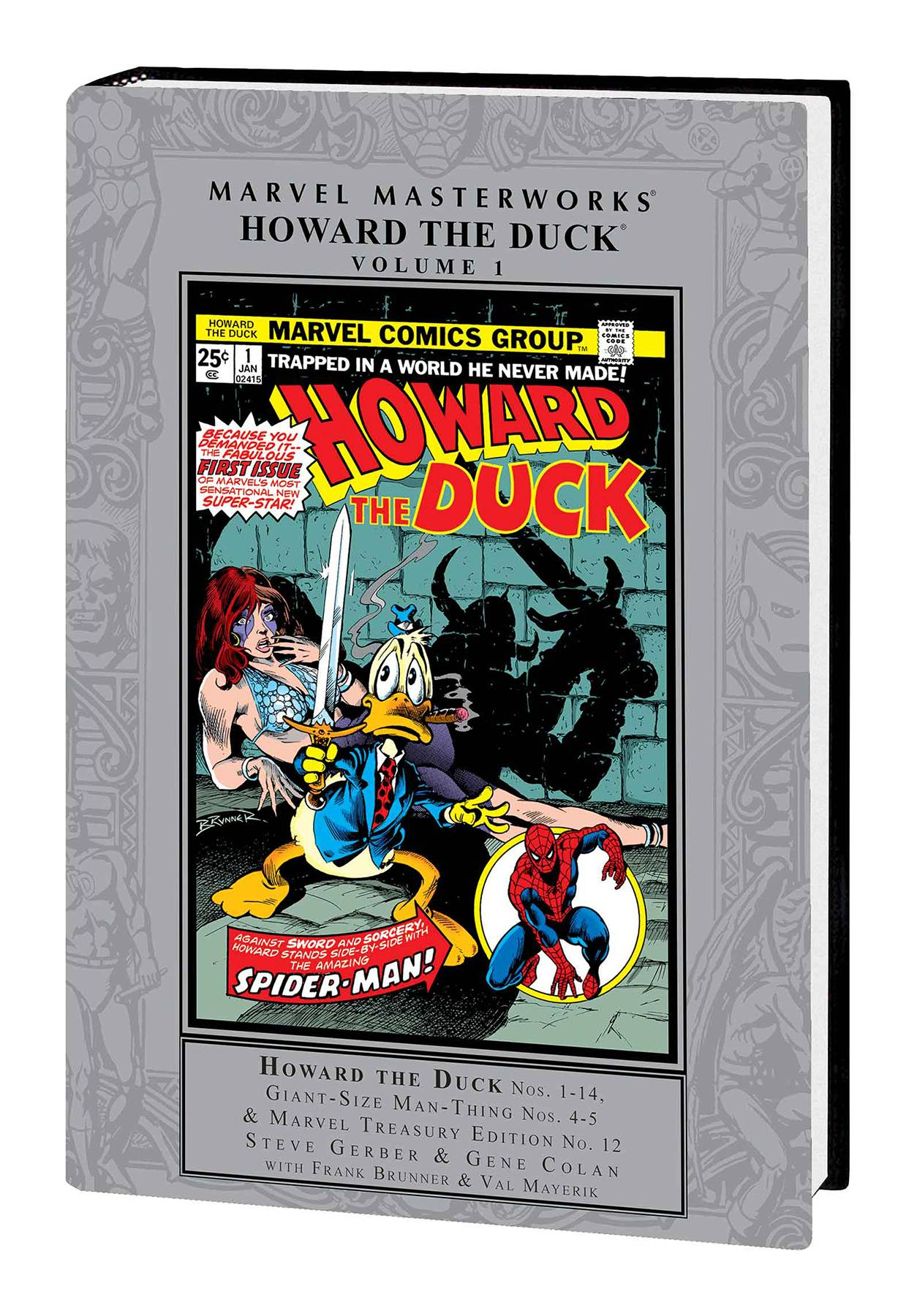 MMW HOWARD THE DUCK HC VOL 01