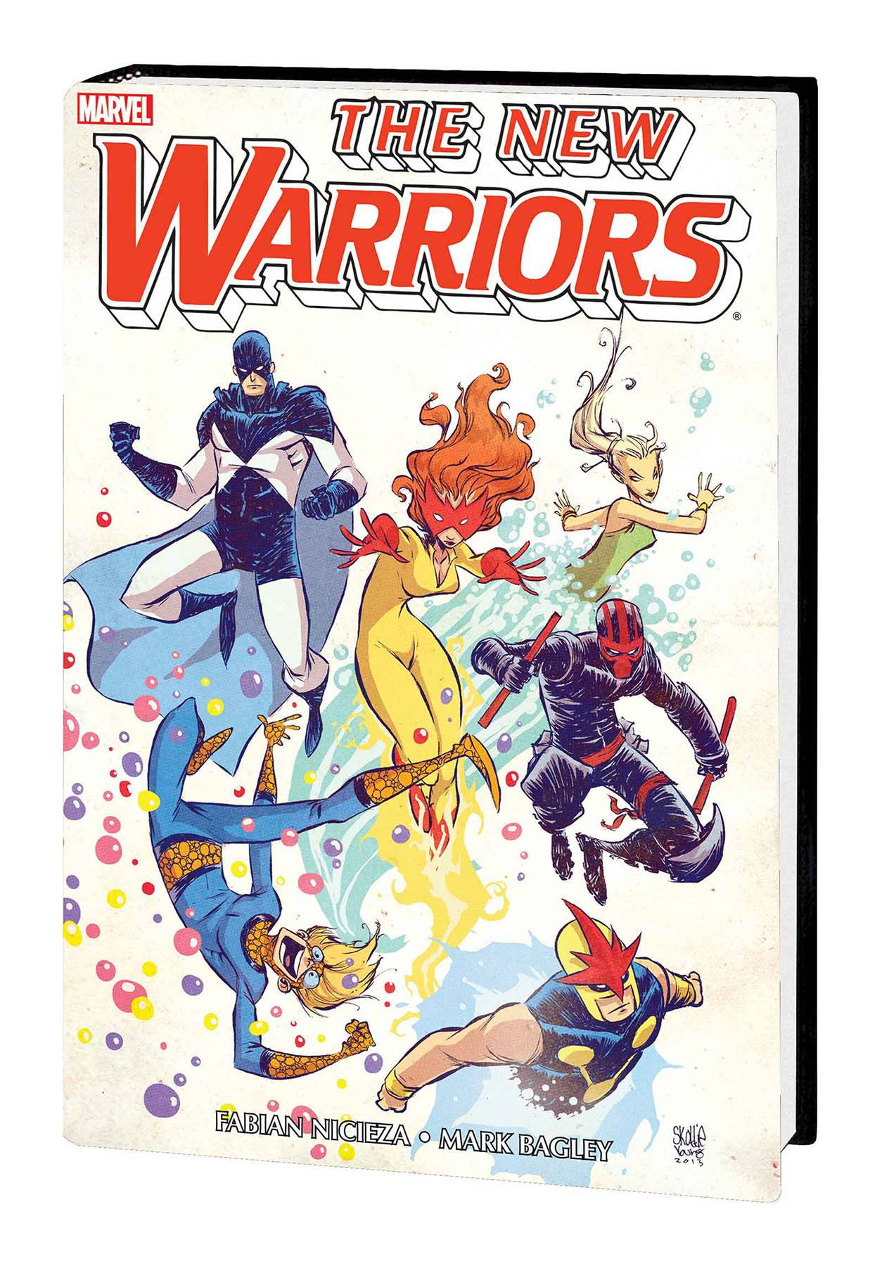 NEW WARRIORS CLASSIC OMNIBUS HC VOL 01 YOUNG CVR NEW PTG
