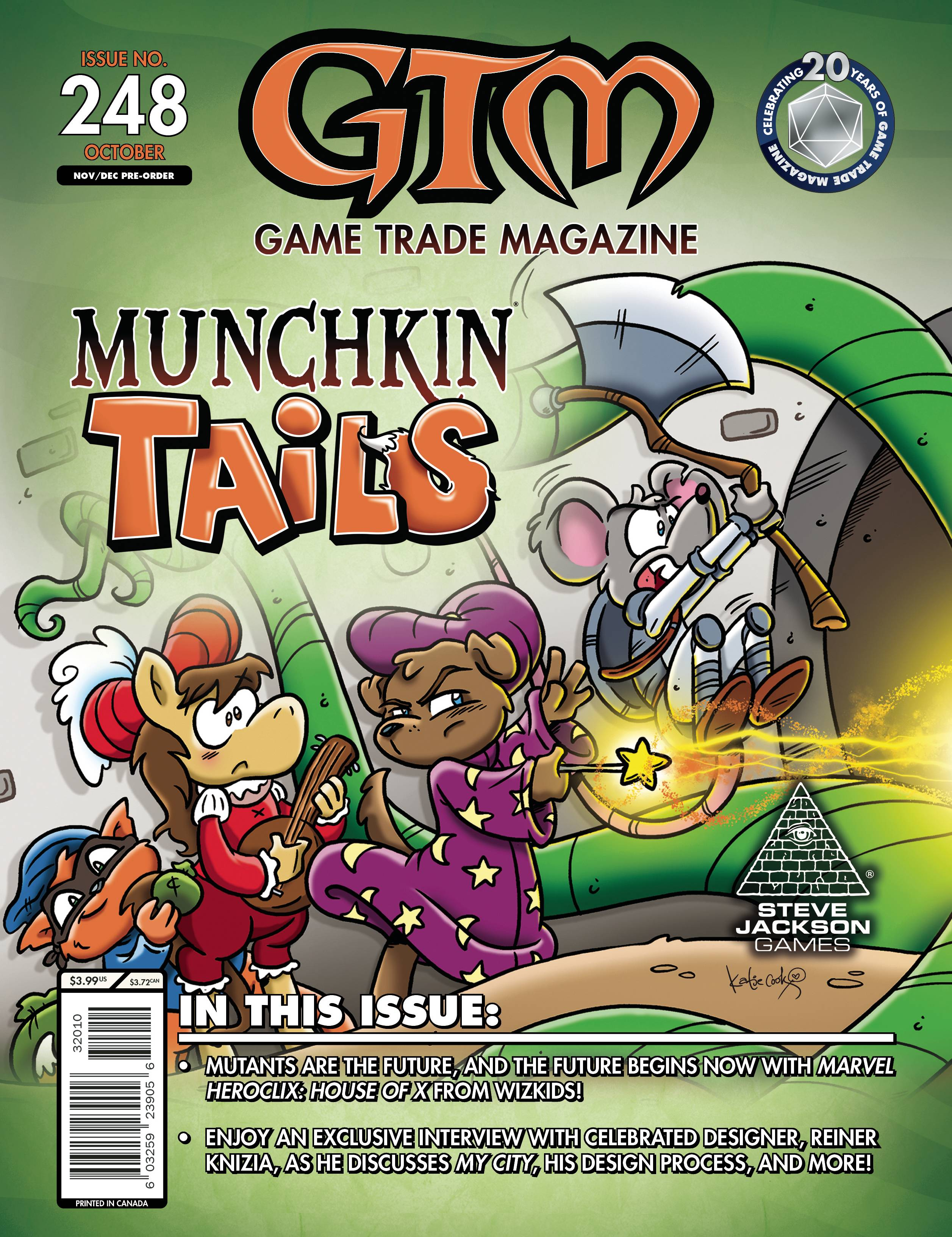 GAME TRADE MAGAZINE EXTRAS #248