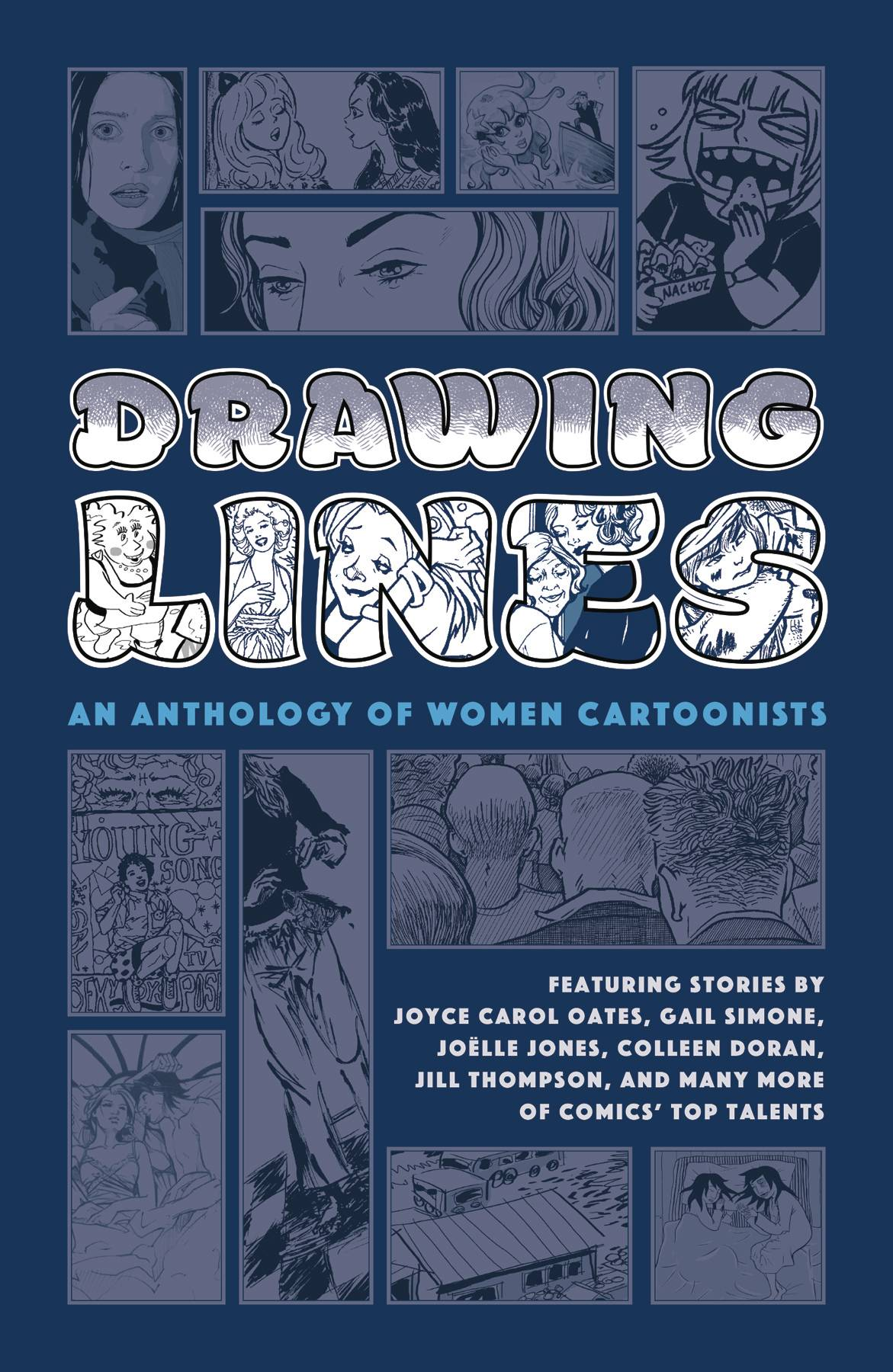 DRAWING LINES WOMEN CARTOONIST ANTHOLOGY HC (MR)