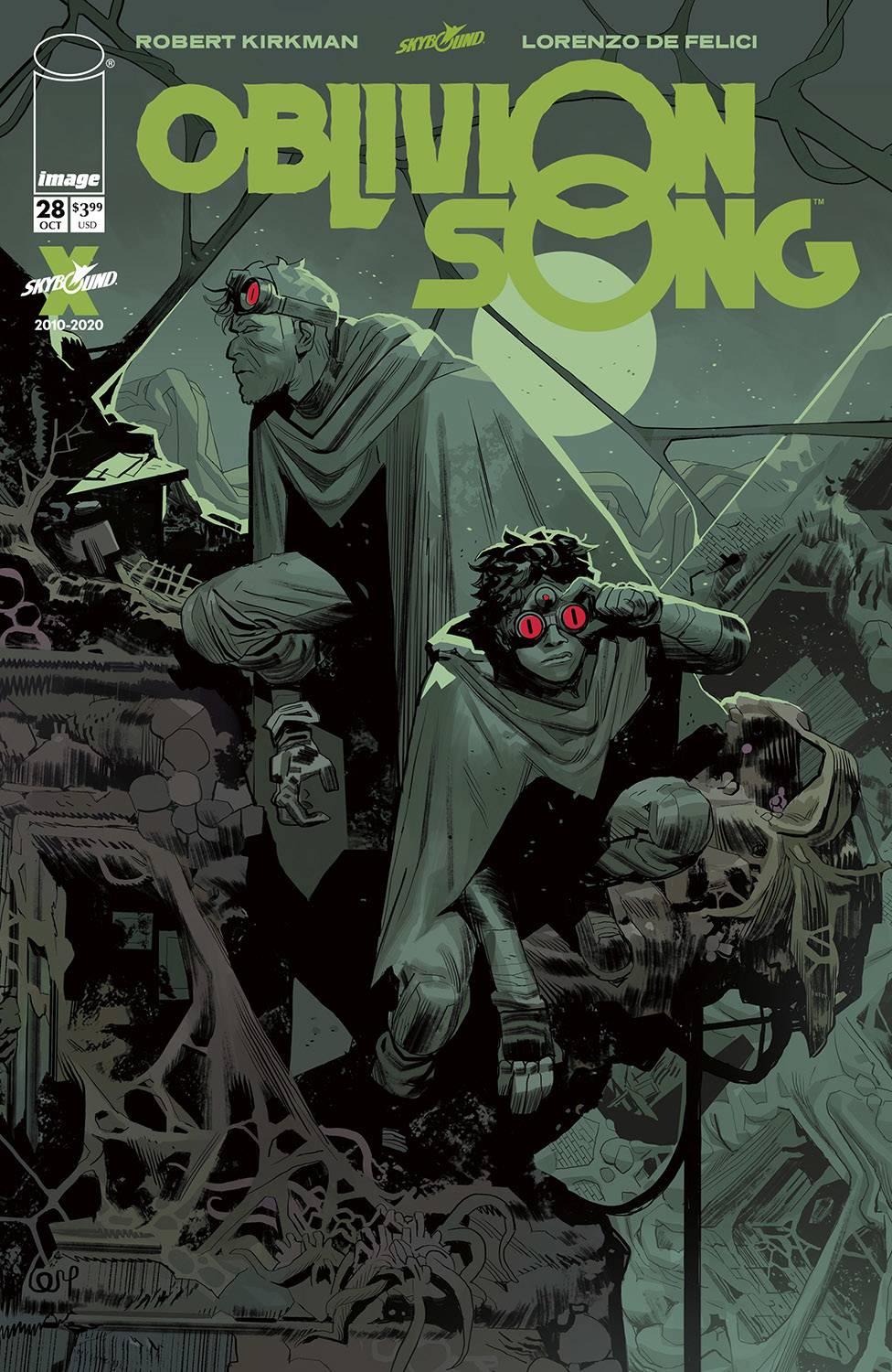 OBLIVION SONG BY KIRKMAN & DE FELICI #28 (MR)