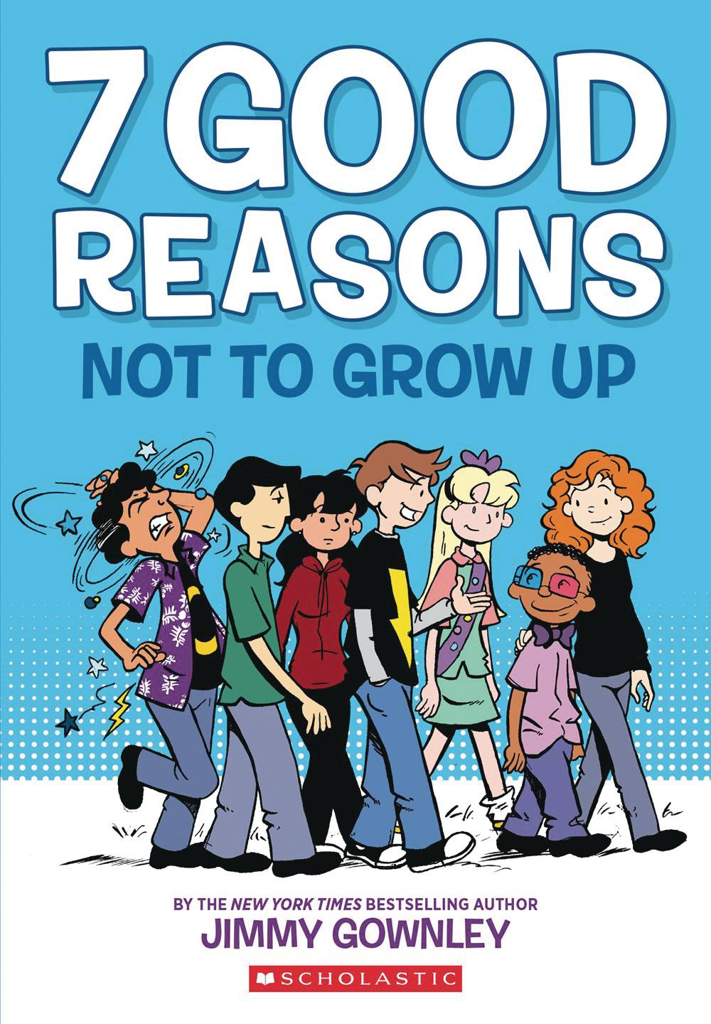 7 GOOD REASONS NOT TO GROW UP HC GN