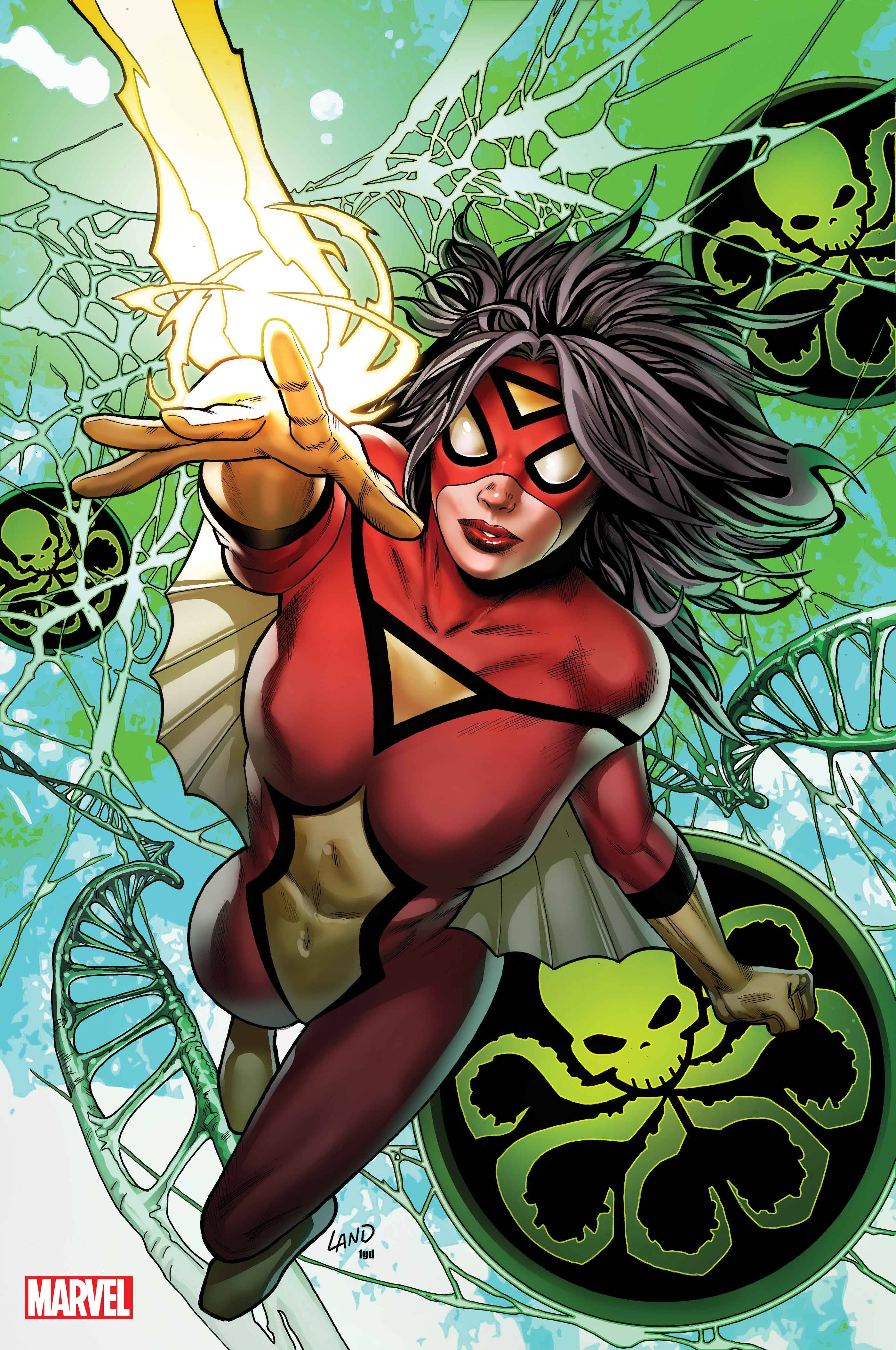 SPIDER-WOMAN #5 LAND VIRGIN VAR