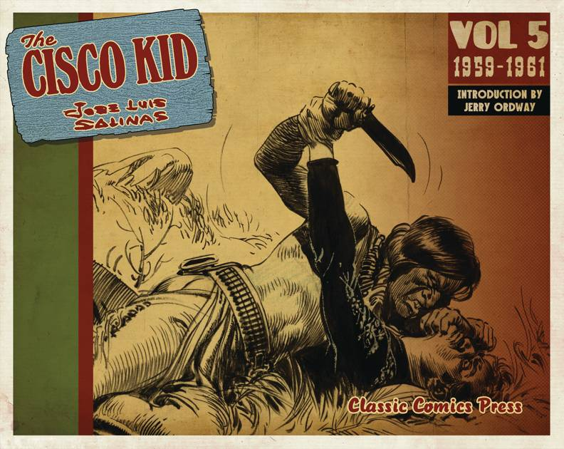 CISCO KID JOSE LUIS SALINAS & REED TP VOL 05 1959-1961