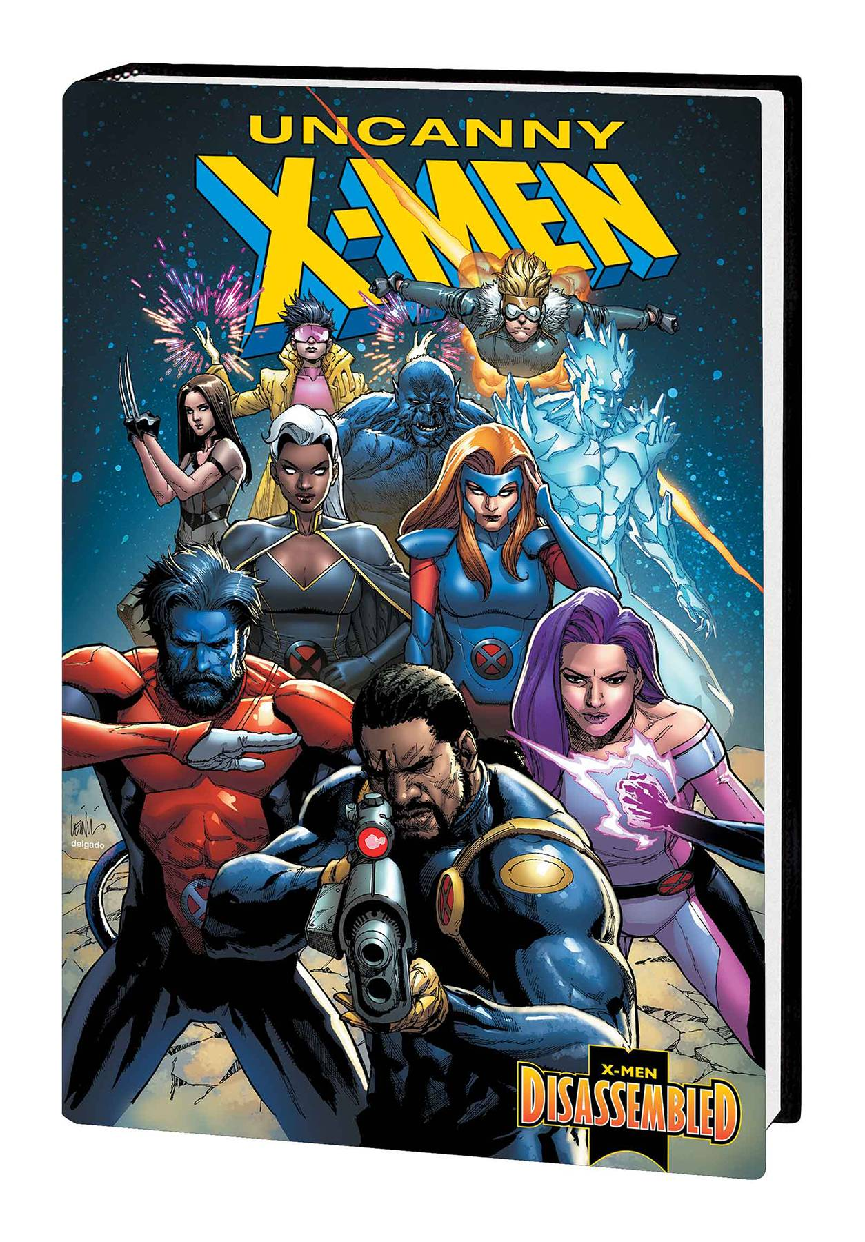 UNCANNY X-MEN HC X-MEN DISASSEMBLED