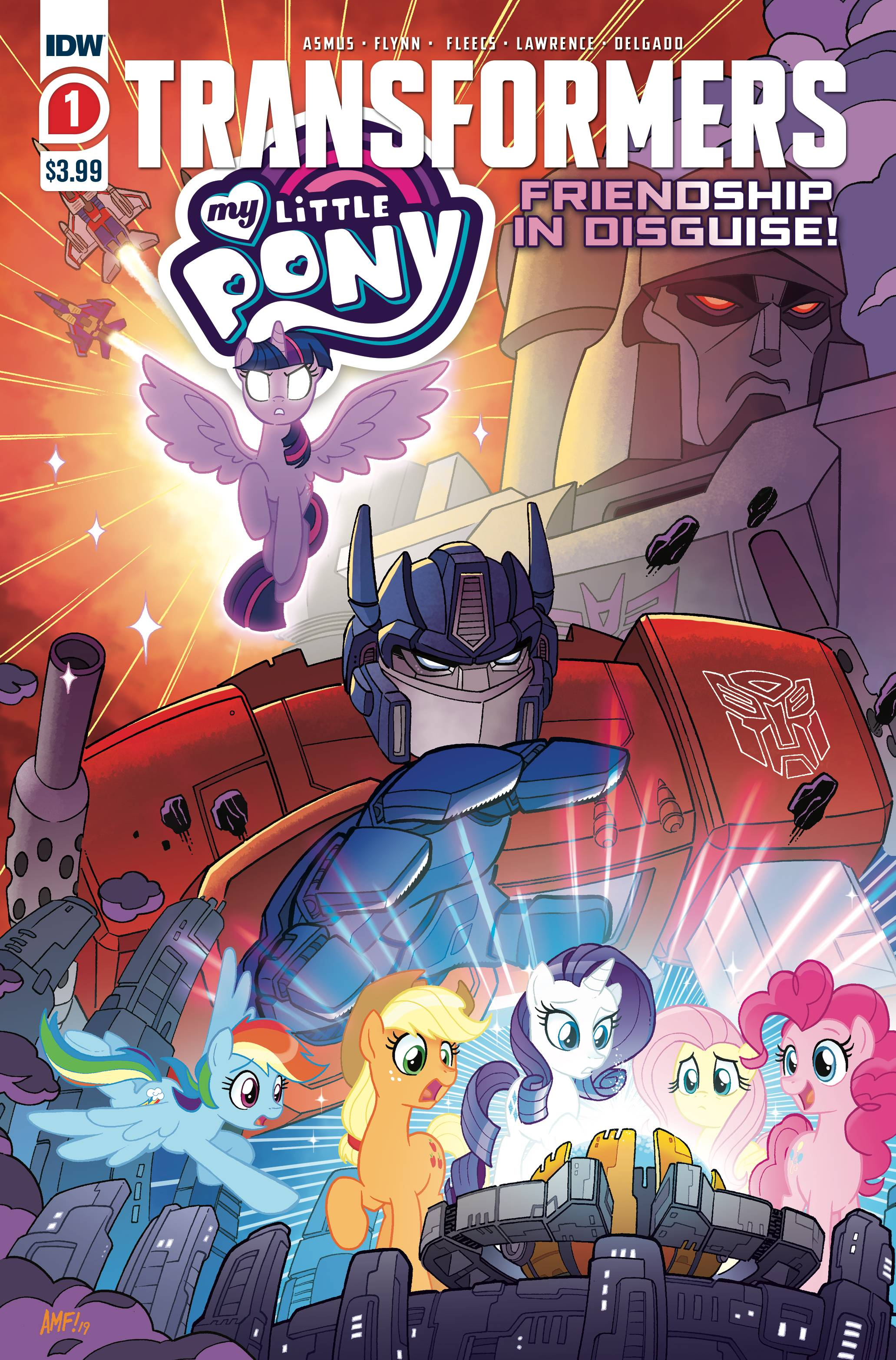 MY LITTLE PONY TRANSFORMERS #1 (OF 4) 2ND PTG