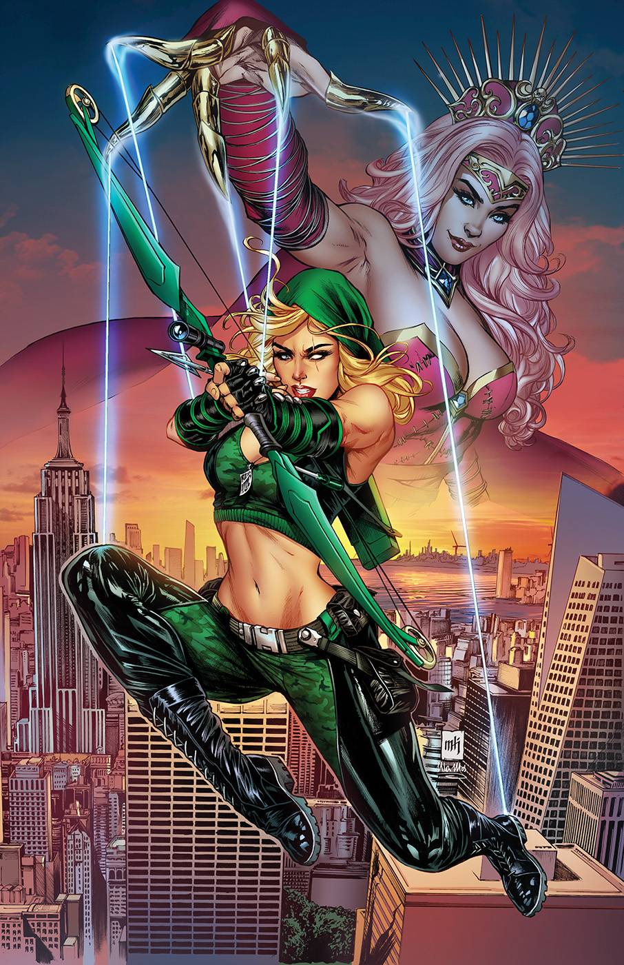 ROBYN HOOD JUSTICE #5 (OF 6) CVR A KROME