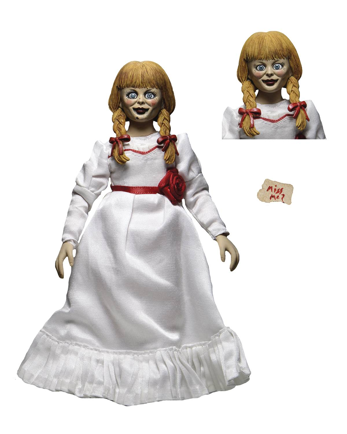 THE CONJURING UNIVERSE ANNABELLE 8IN CLOTHED AF