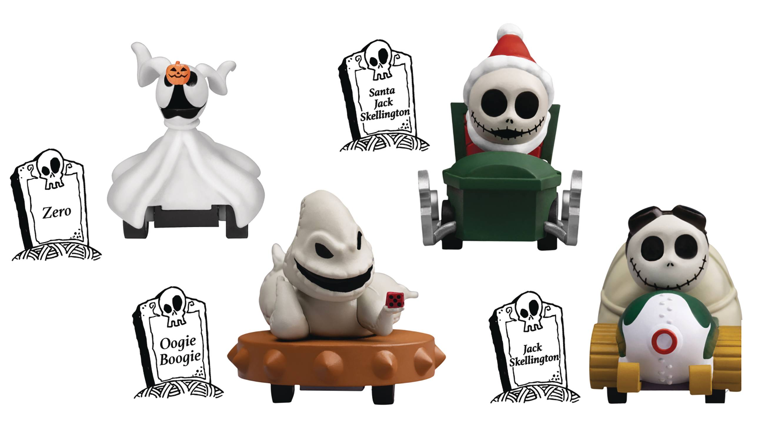NIGHTMARE BEFORE CHRISTMAS ZERO PULL BACK CAR