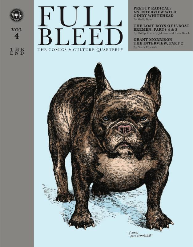 FULL BLEED COMICS & CULTURE QUARTERLY HC VOL 04 THE END