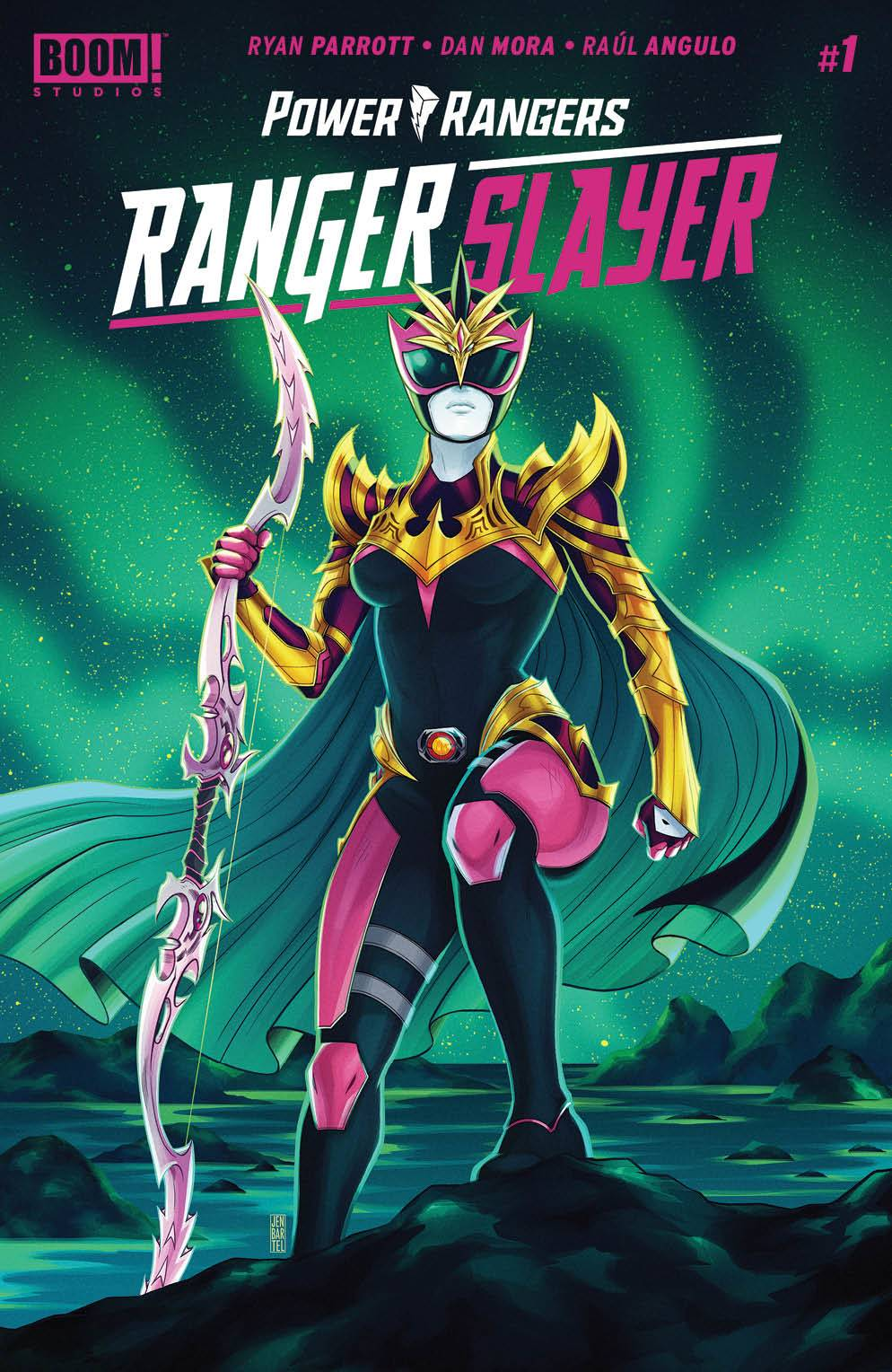 POWER RANGERS RANGER SLAYER #1 (2ND PTG)