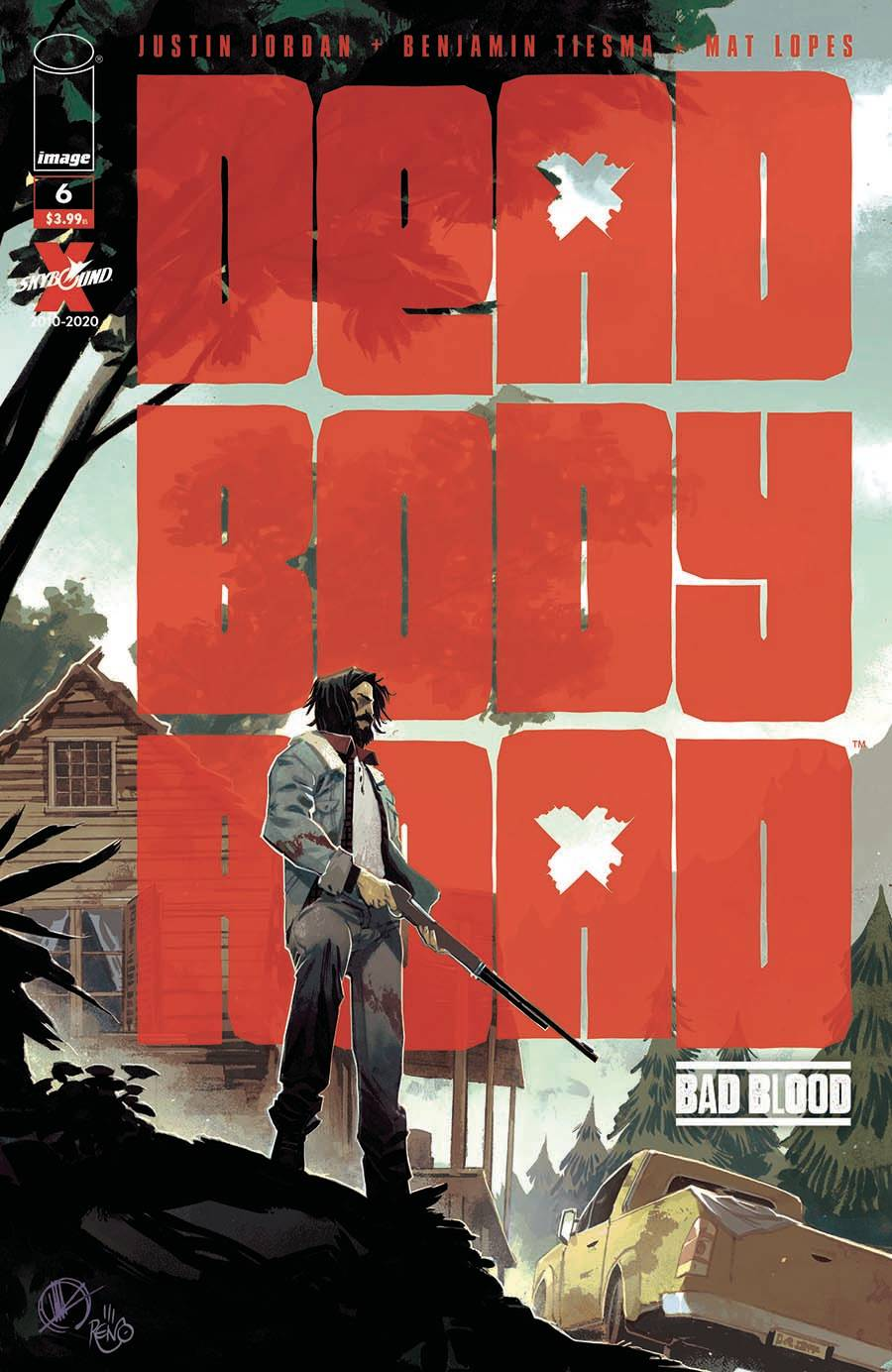 DEAD BODY ROAD BAD BLOOD #6 (OF 6) (MR)