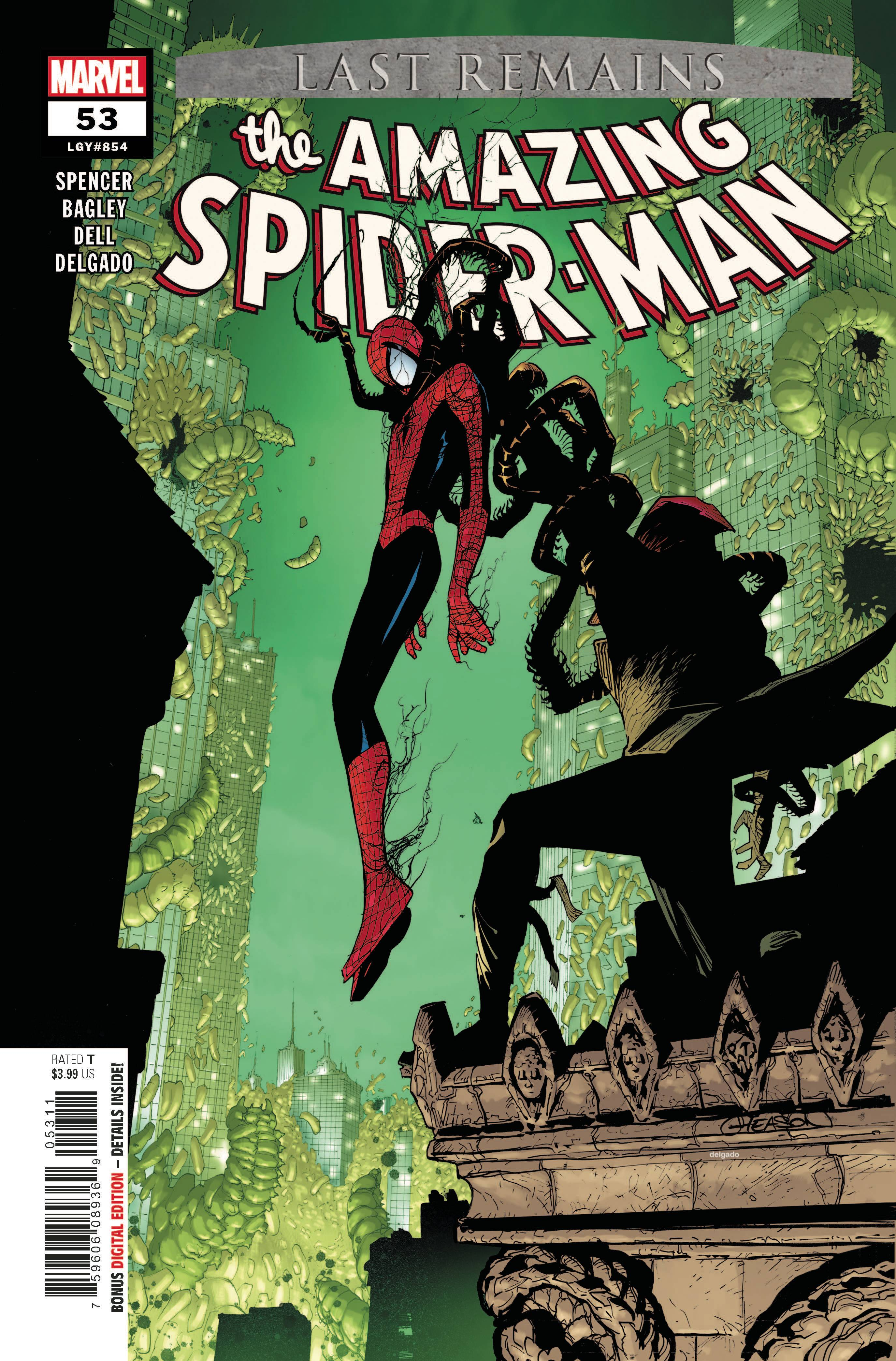 AMAZING SPIDER-MAN #53 LAST