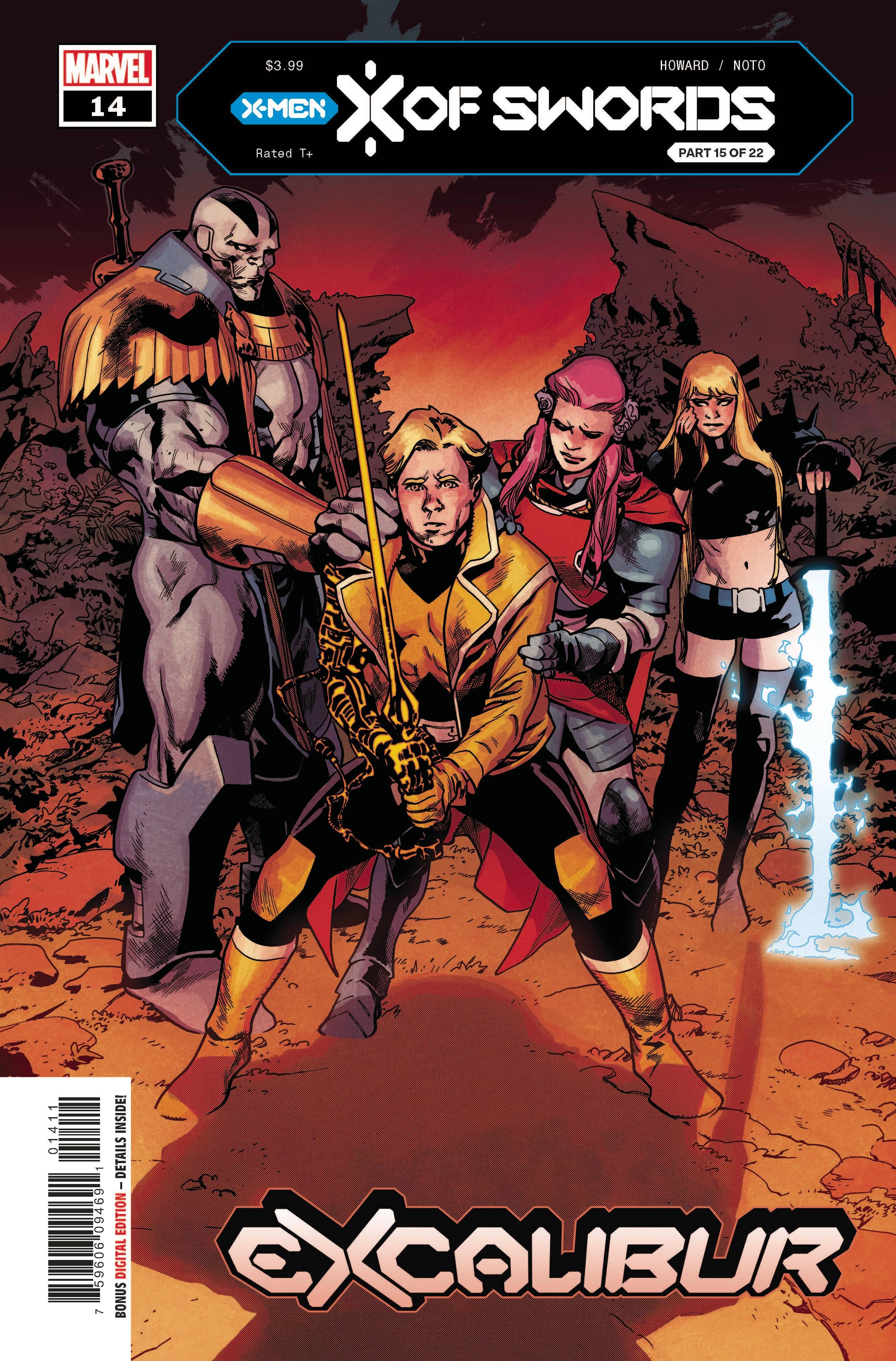 EXCALIBUR #14 - Marvel - Nov 2020 - Asrar