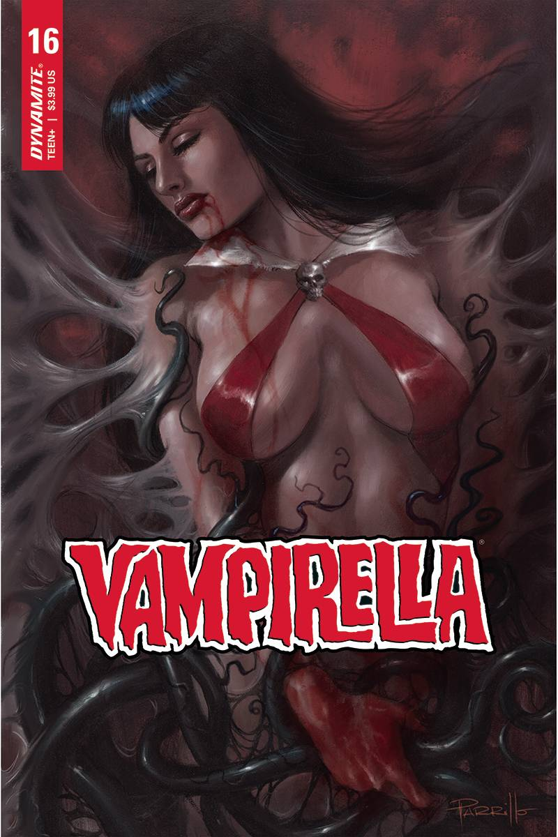 VAMPIRELLA #16 PARRILLO CGC GRADED CVR