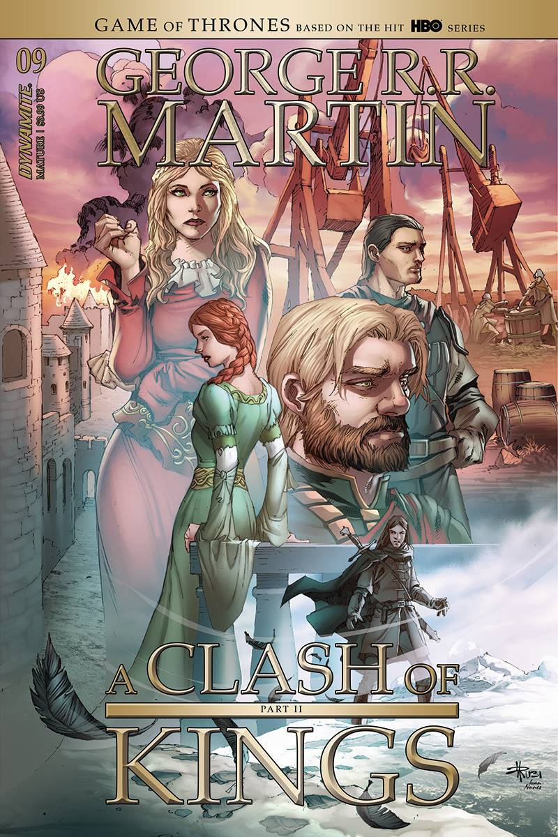 GEORGE RR MARTIN A CLASH OF KINGS #9 CVR B RUBI (MR)