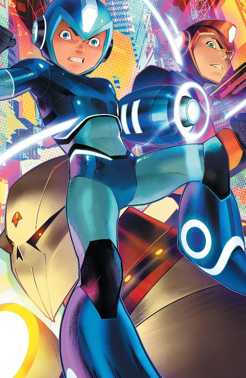 MEGA MAN FULLY CHARGED #4 CVR C MORA VAR