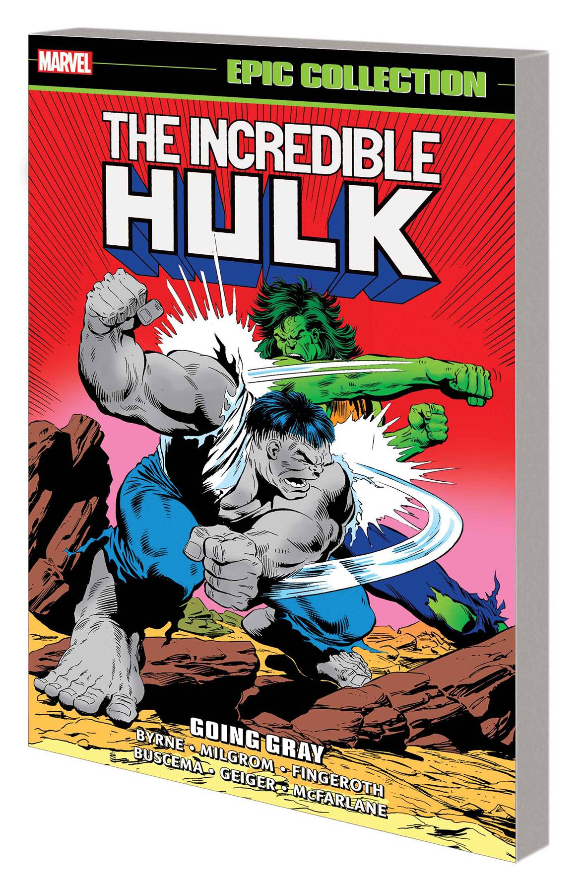 INCREDIBLE HULK EPIC COLLECTION TP GOING GRAY