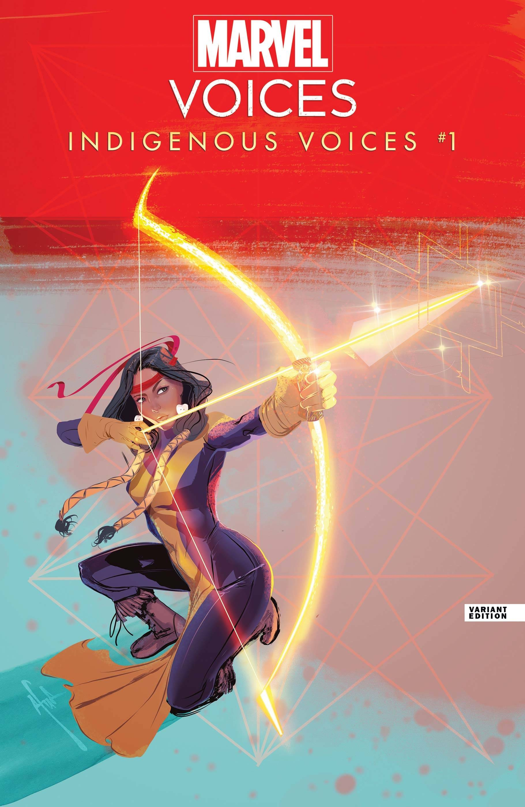 MARVELS VOICES INDIGENOUS VOICES #1 RICHARDSON VAR