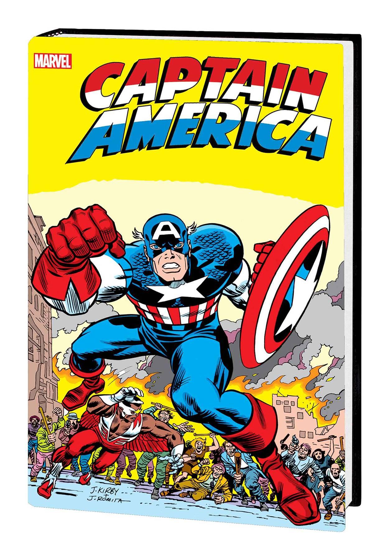 CAPTAIN AMERICA BY JACK KIRBY OMNIBUS HC MADBOMB CVR NEW PTG