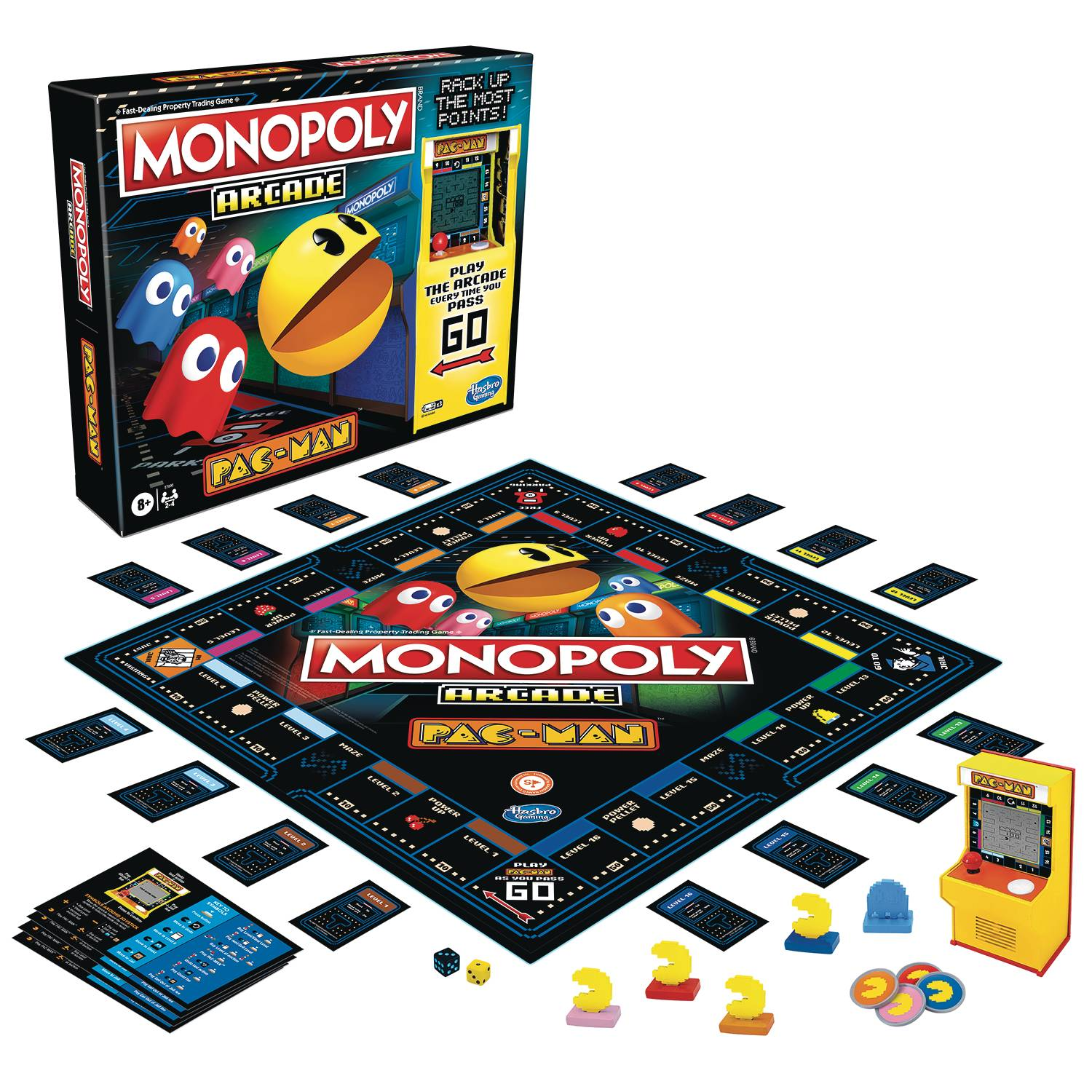 MONOPOLY ARCADE PAC-MAN EDITION GAME CS