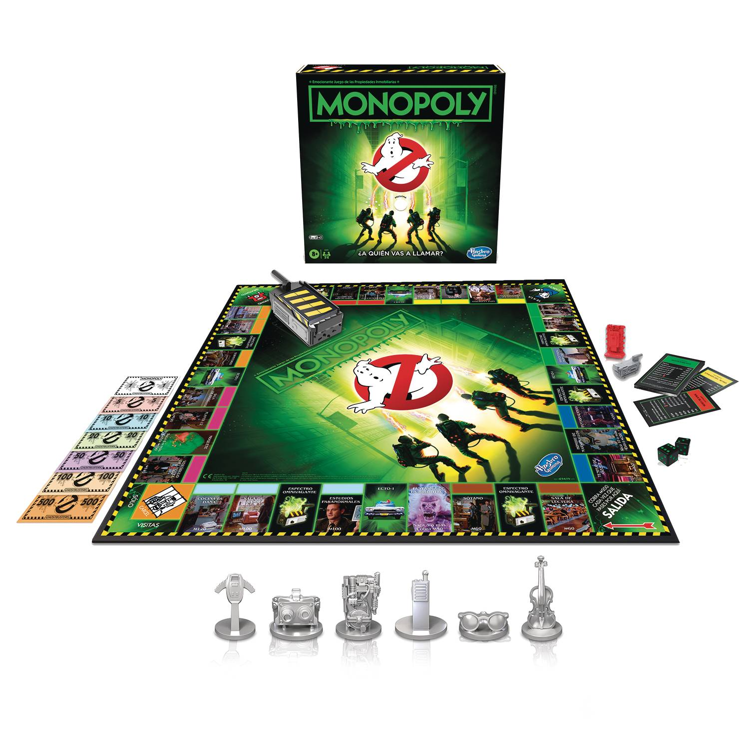 MONOPOLY GHOSTBUSTERS ED GAME CS