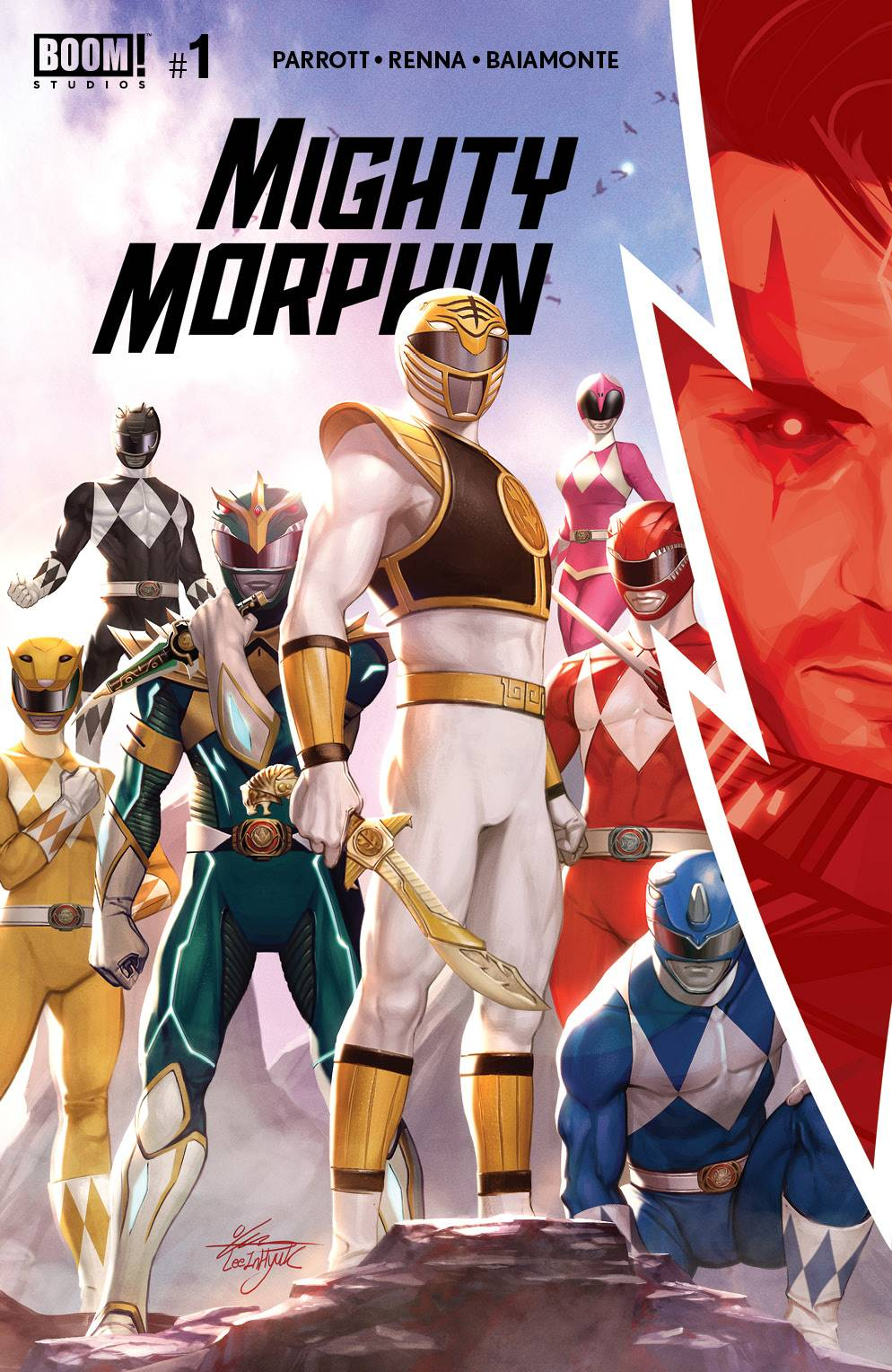 MIGHTY MORPHIN #1 CVR A LEE