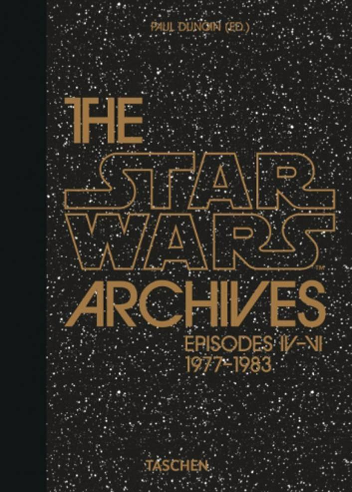 STAR WARS ARCHIVES 1977 1983 TASCHEN 40TH ANNIV ED