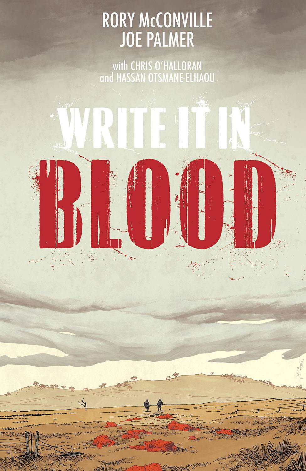 WRITE IT IN BLOOD TP (MR)