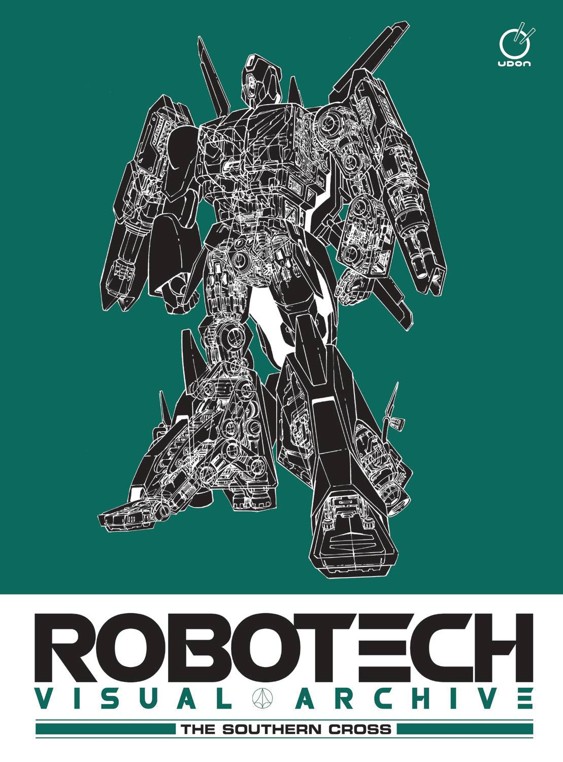 ROBOTECH VISUAL ARCHIVE THE SOUTHERN CROSS HC (RES)
