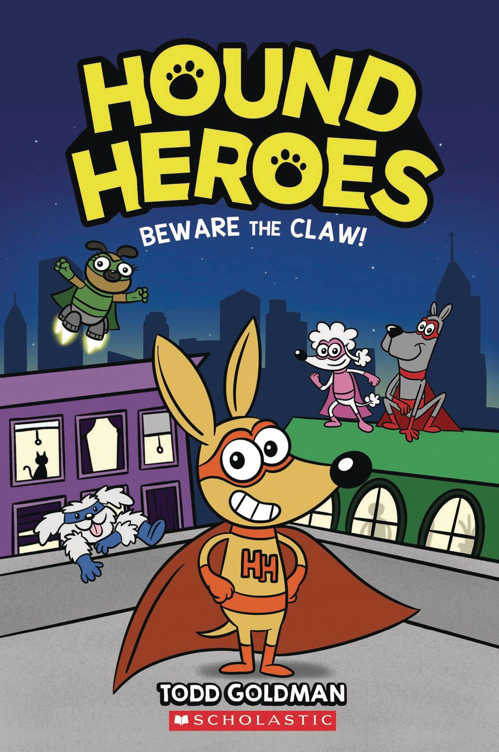 HOUND HEROES HC GN VOL 01 BEWARE THE CLAW