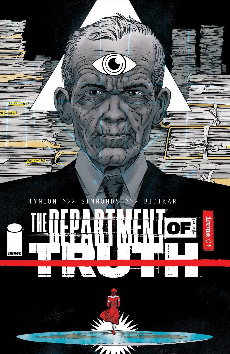 DEPARTMENT OF TRUTH #1 10 COPY INCV SHALVEY (MR)