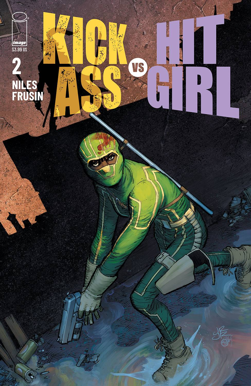 KICK-ASS VS HIT-GIRL #2 (OF 5) CVR A ROMITA JR (MR)