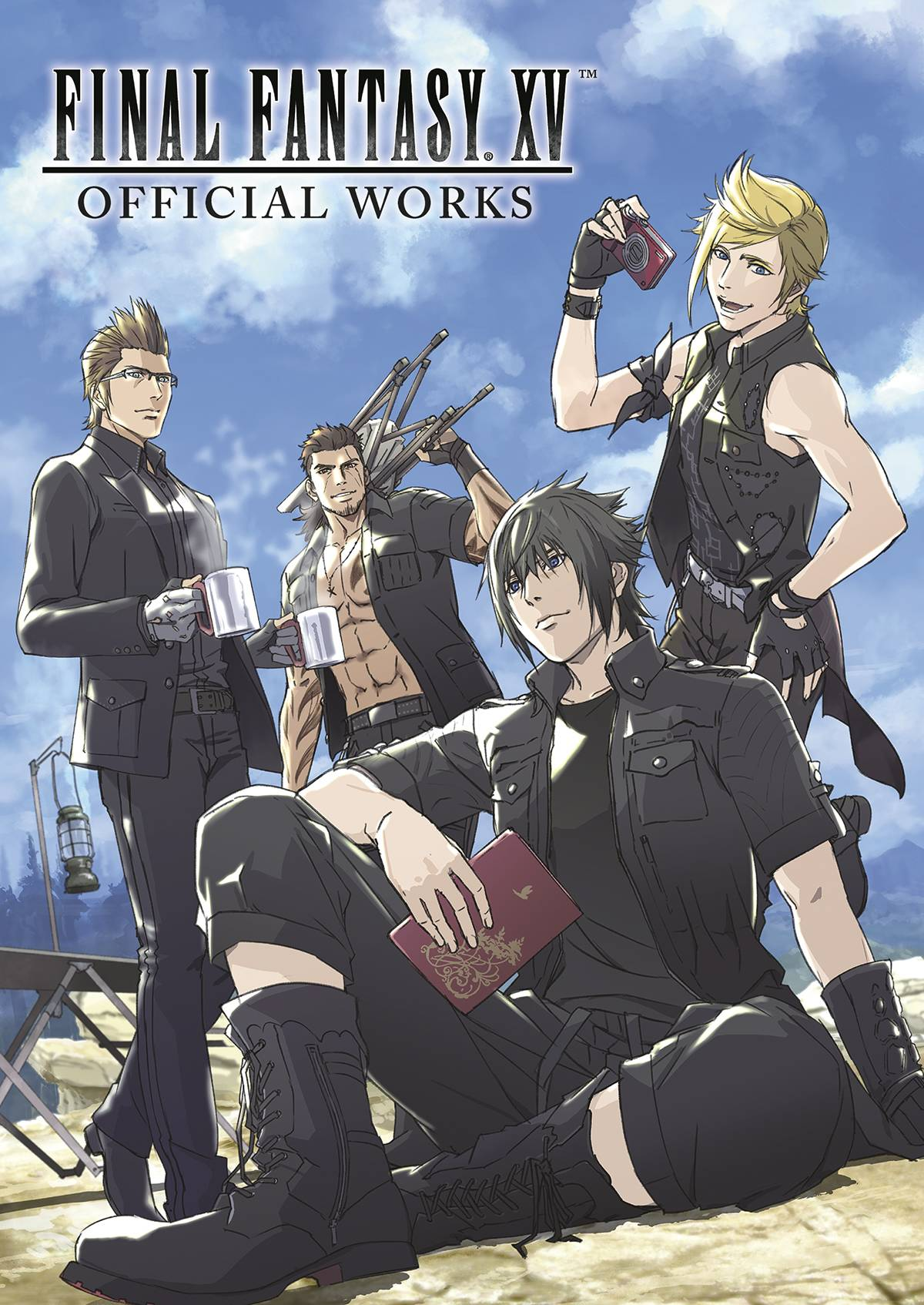 FINAL FANTASY XV OFFICIAL WORKS HC