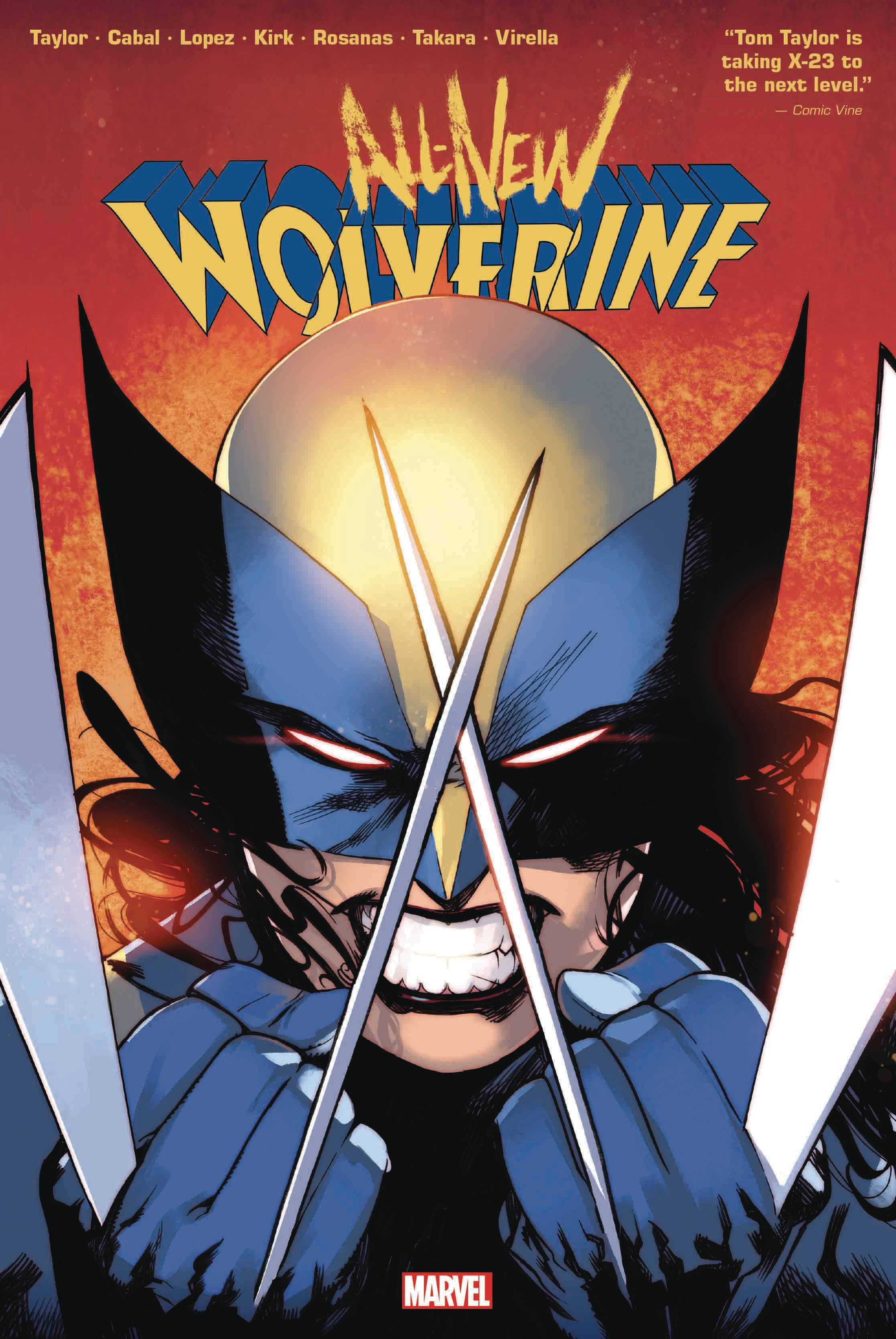 ALL-NEW WOLVERINE BY TOM TAYLOR OMNIBUS HC