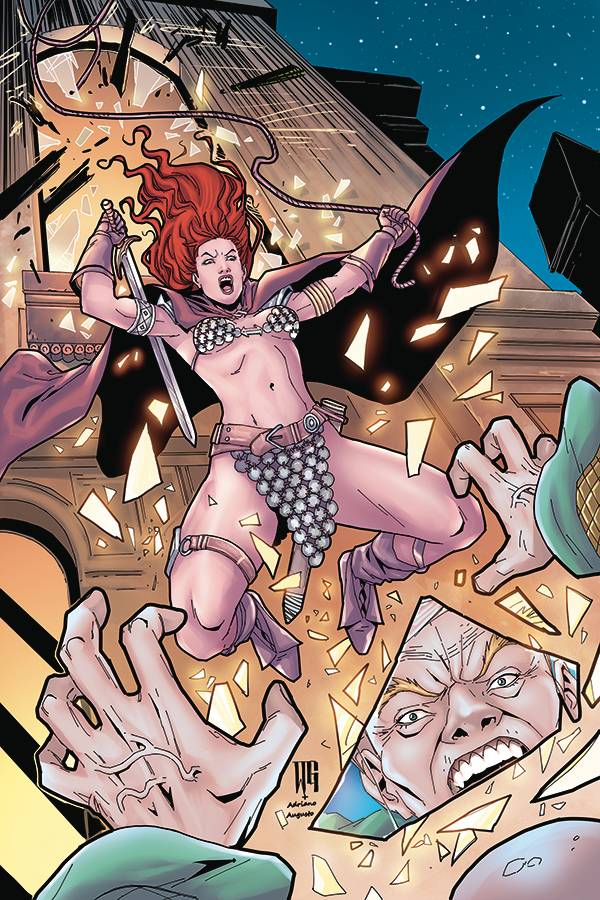 RED SONJA PRICE OF BLOOD #1 GEOVANI LTD VIRGIN CVR