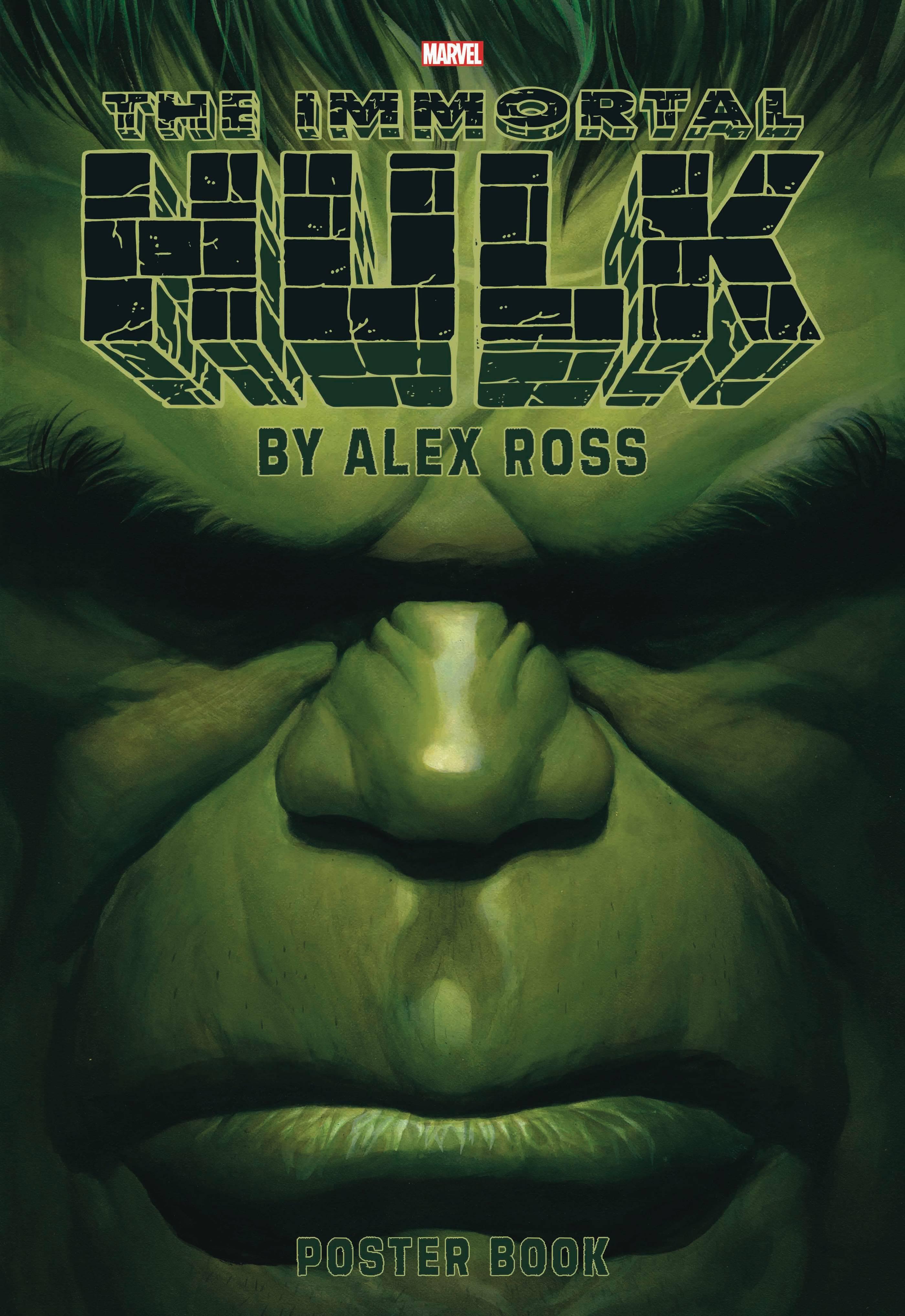 IMMORTAL HULK BY ALEX ROSS POSTER BOOK TP