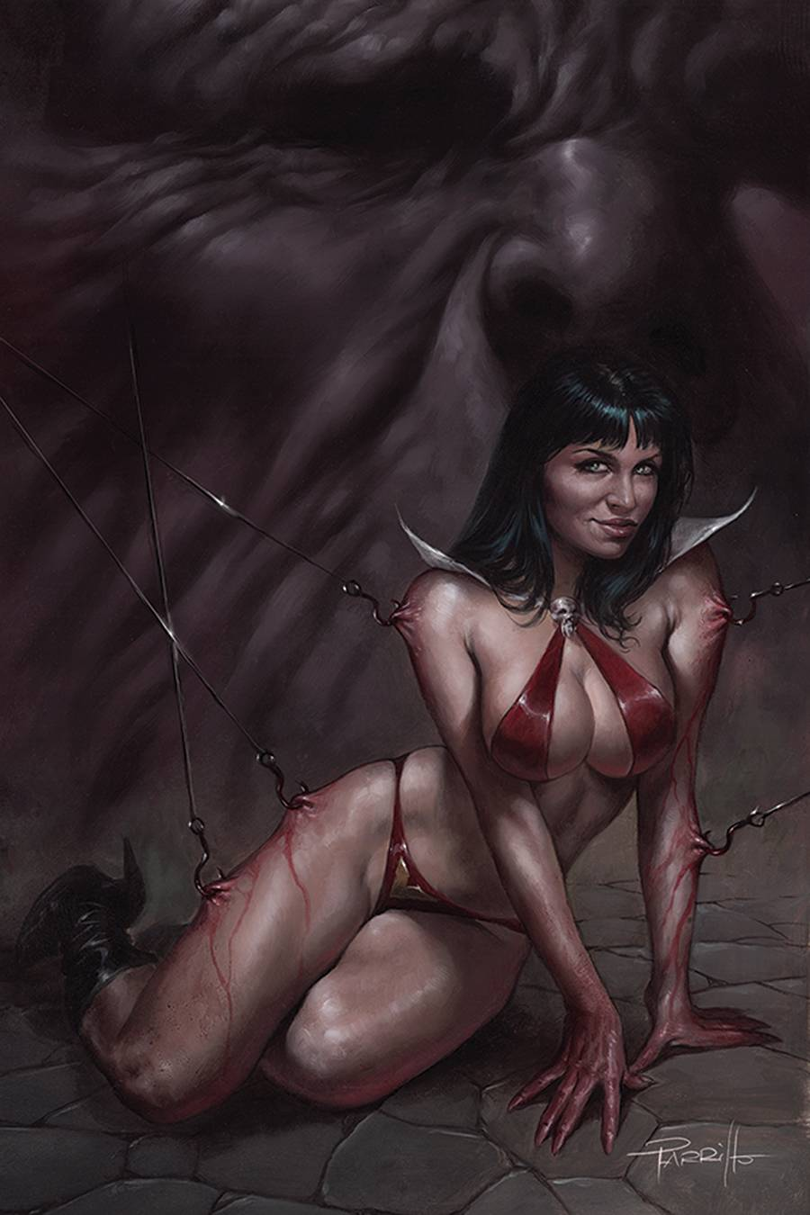 VENGEANCE OF VAMPIRELLA #13 PARRILLO LTD VIRGIN CVR