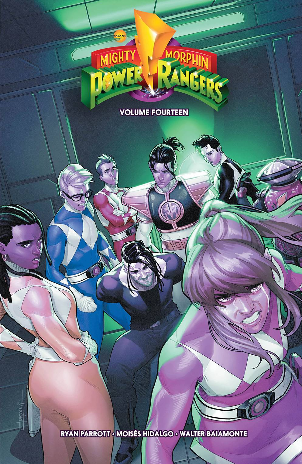 MIGHTY MORPHIN POWER RANGERS TP VOL 14
