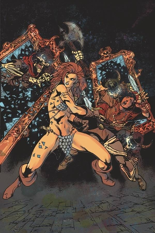 KILLING RED SONJA #4 11 COPY CASTRO VIRGIN FOC INCV