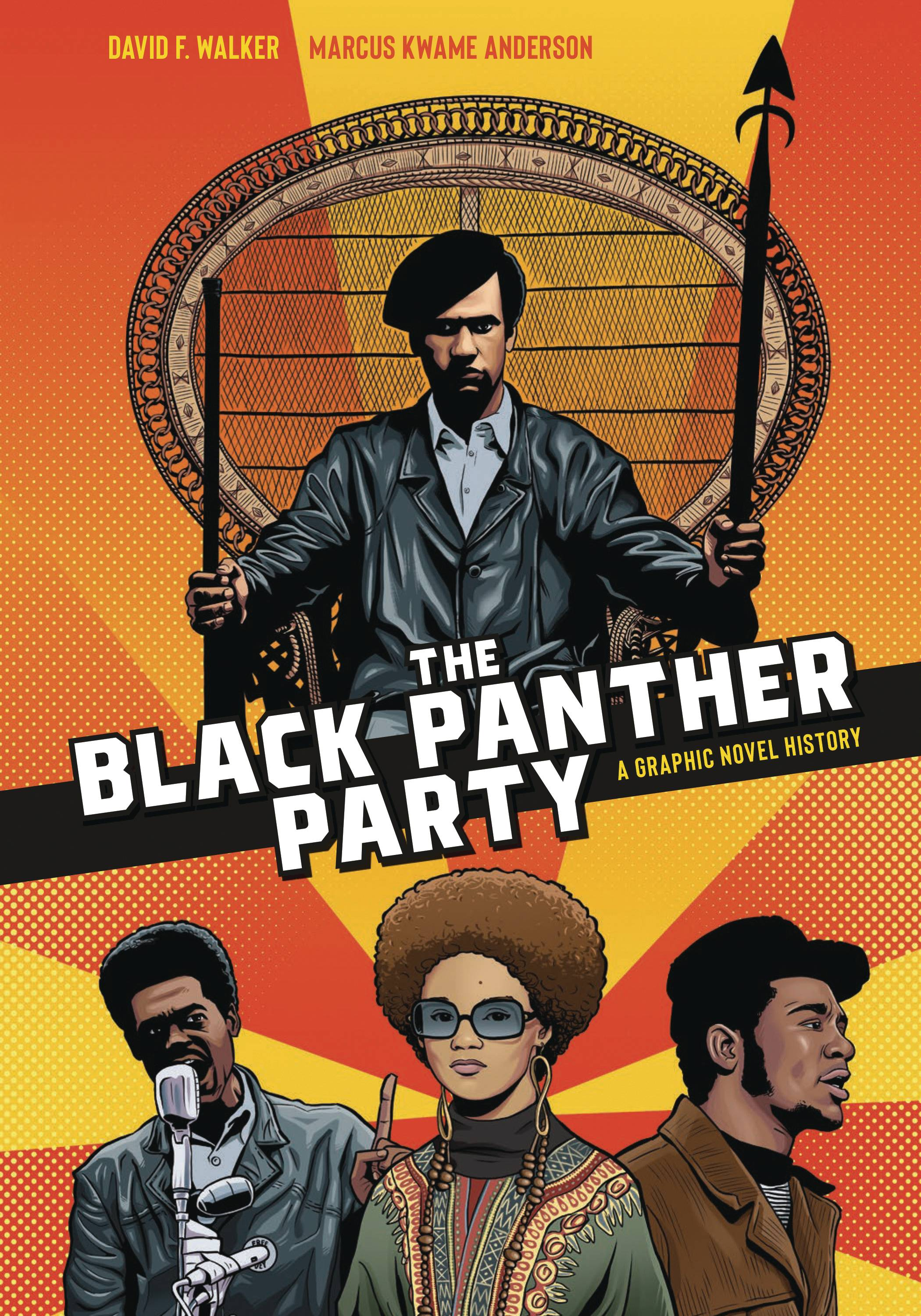 BLACK PANTHER PARTY GRAPHIC HISTORY SC