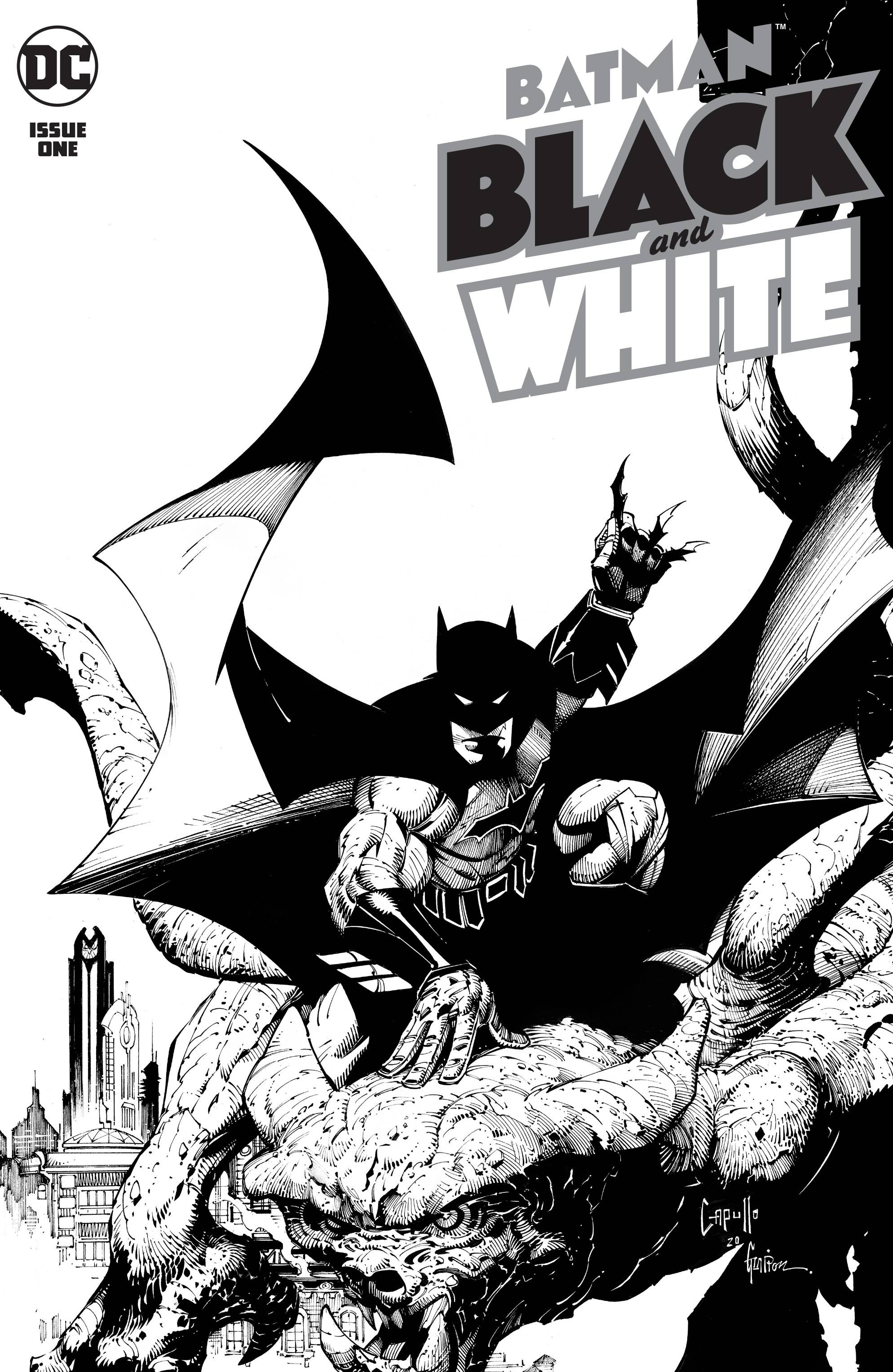 BATMAN BLACK AND WHITE #1 (OF 6)