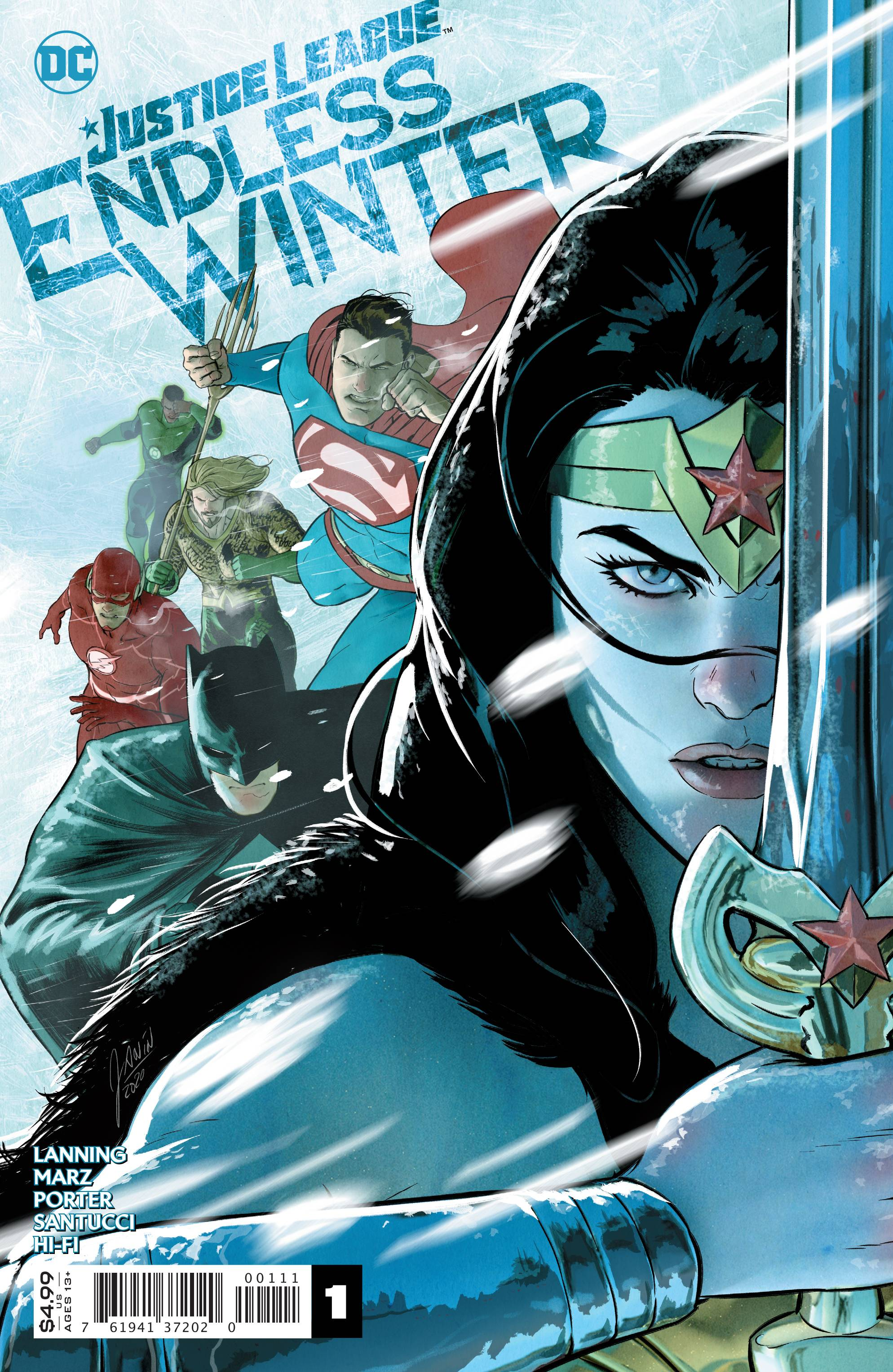 JUSTICE LEAGUE ENDLESS WINTER #1